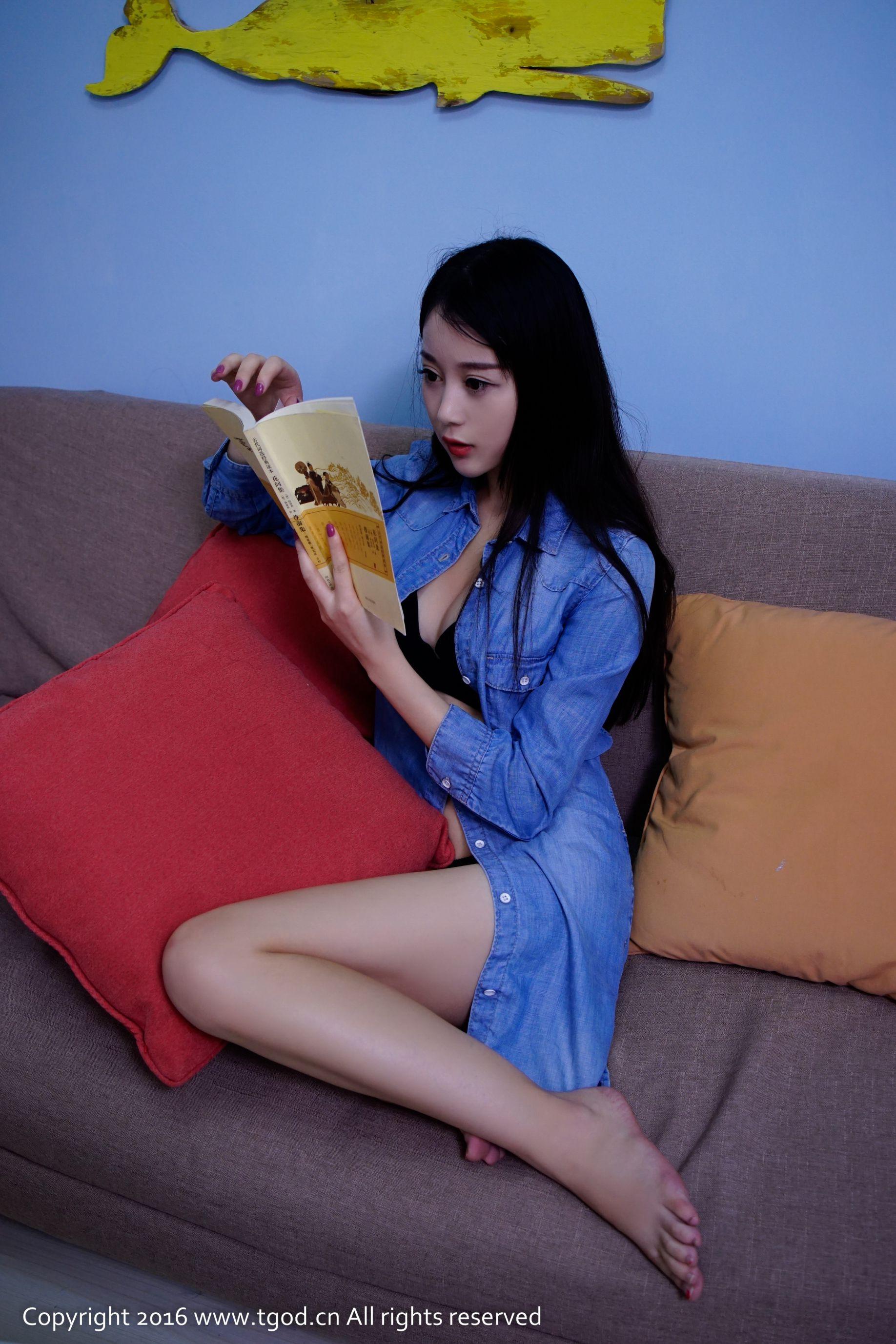 VOL.760 [推女神]牛仔居家美女妹子:赵小米(赵小米Kitty)高品质写真套图(71P)
