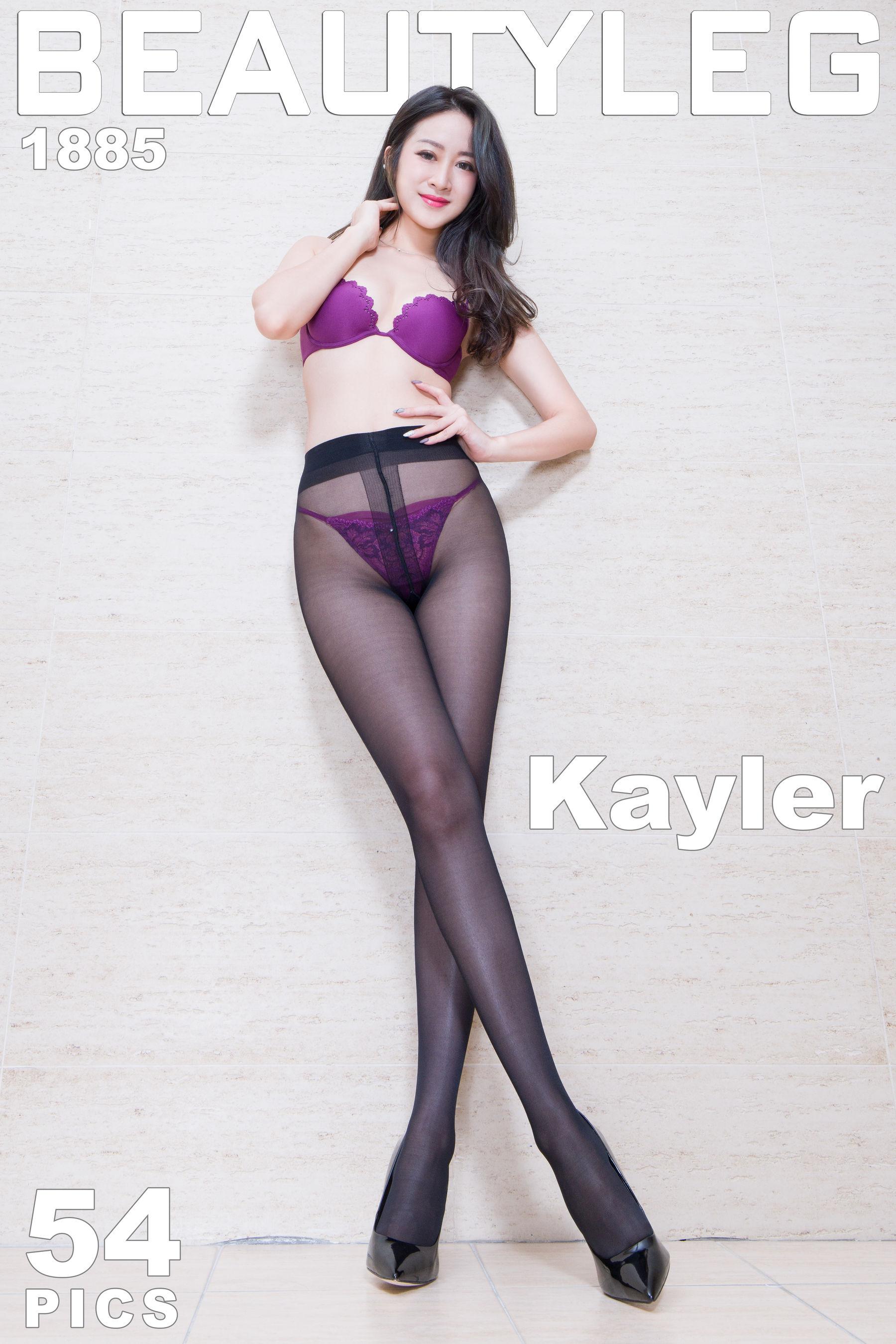 VOL.1052 [Beautyleg]丝袜美腿黑丝:康凯乐(腿模Kaylar)超高清个人性感漂亮大图(47P)