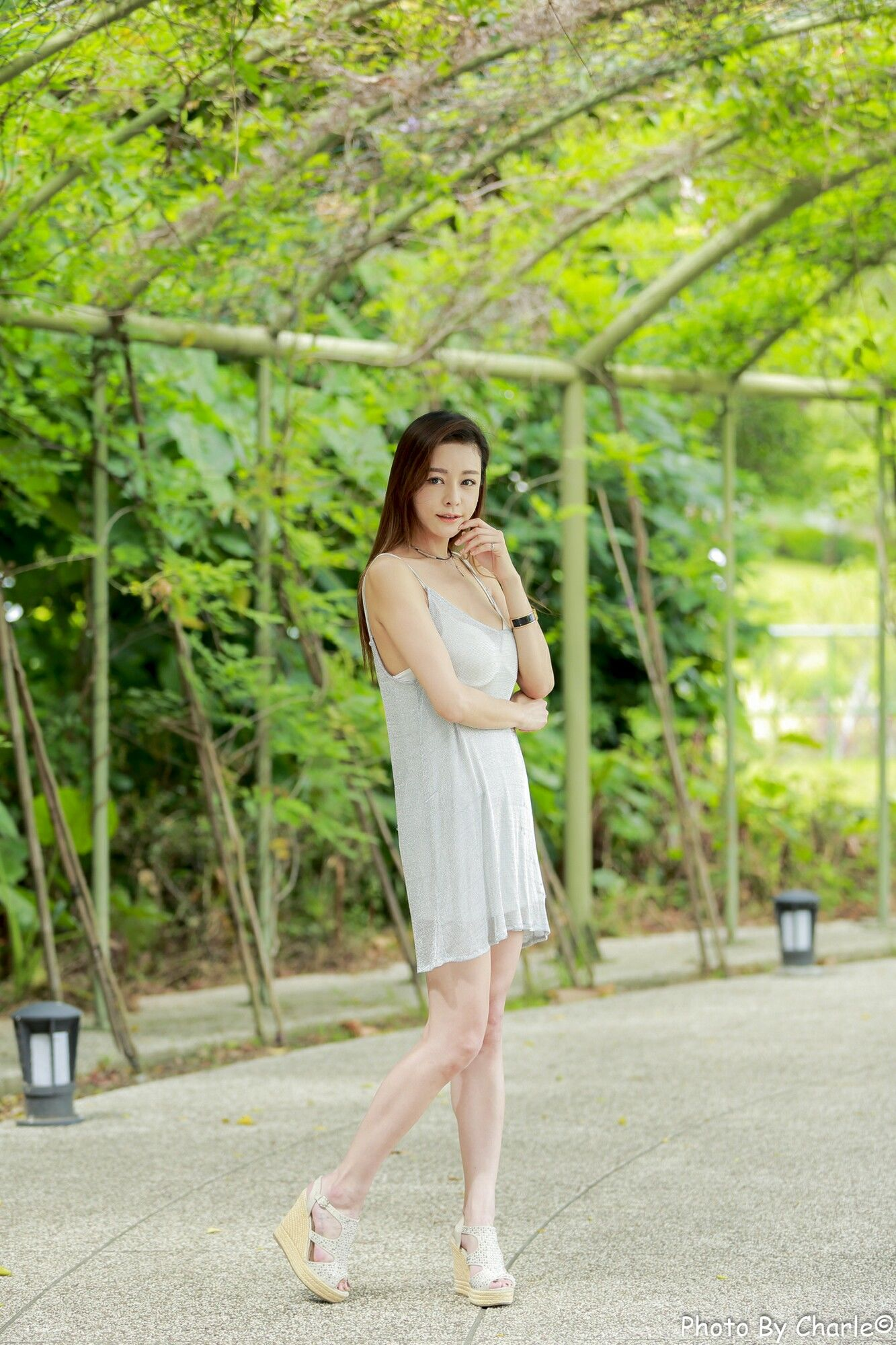VOL.1158 [台湾正妹]清新唯美养眼优雅美女长发美女:韩羽超高清个人性感漂亮大图(100P)