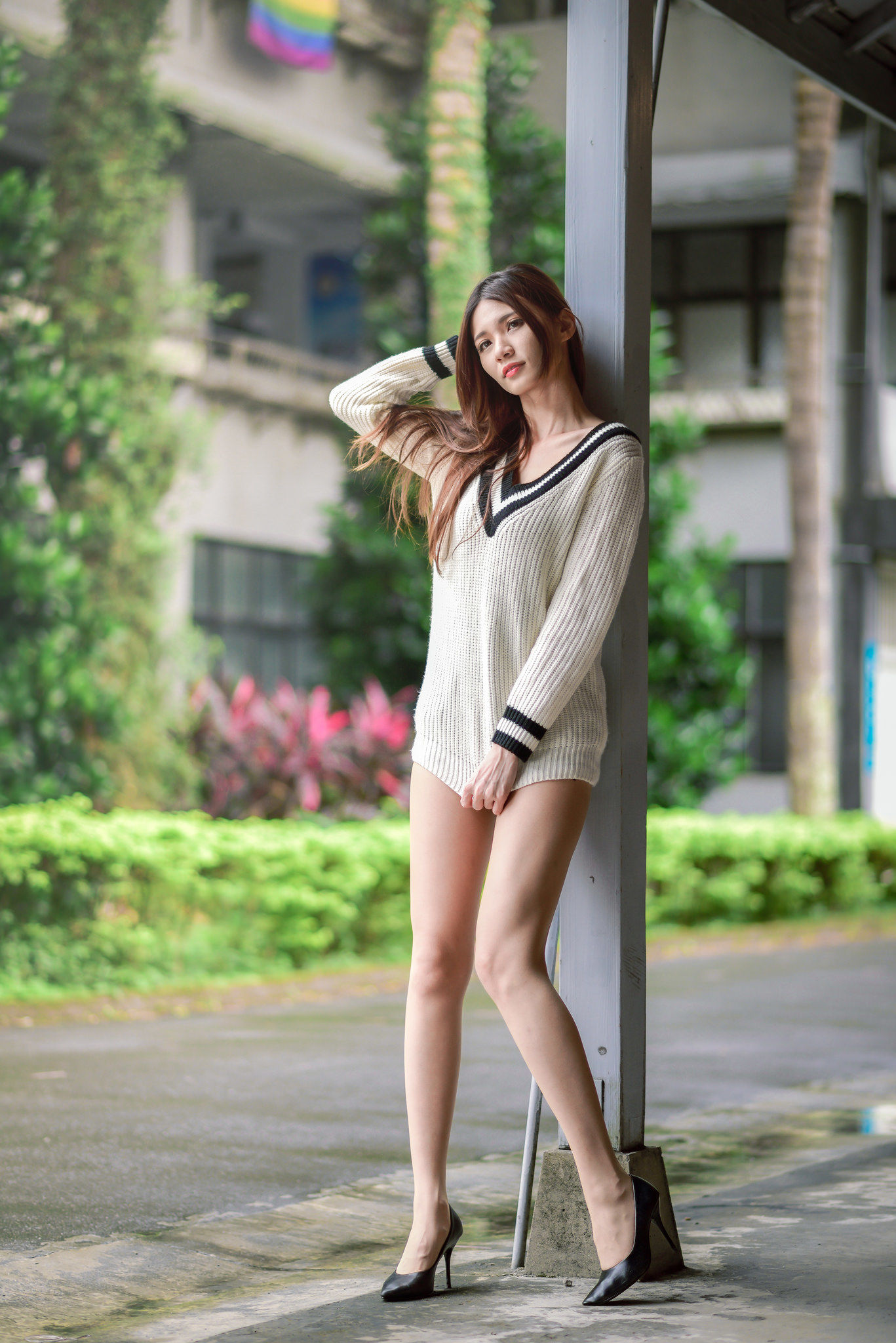 VOL.949 [台湾正妹]清新街拍正妹:蔡译心(Candice)超高清个人性感漂亮大图(91P)