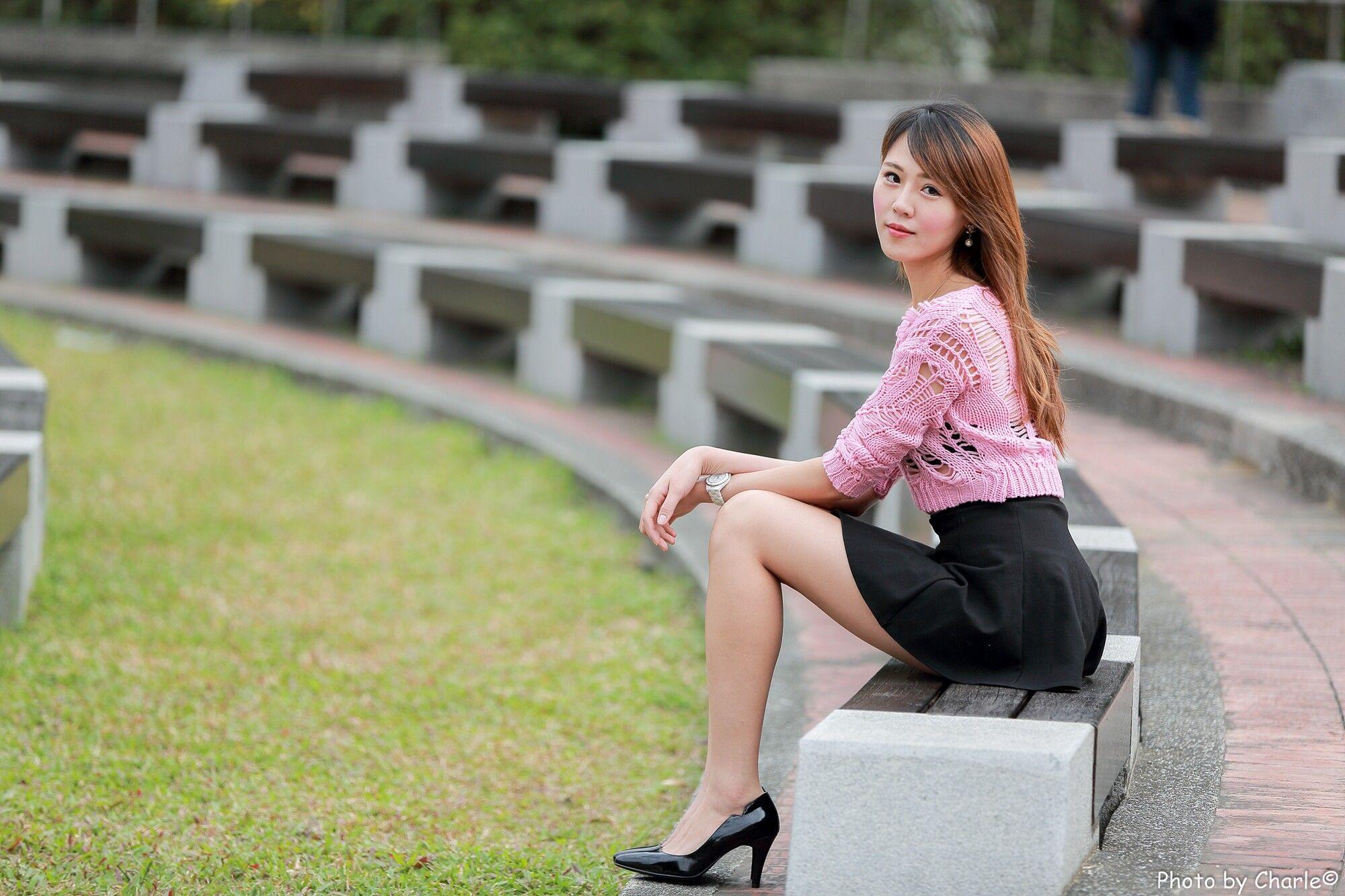 VOL.553 [台湾正妹]清纯街拍美腿街拍短裙迷你裙:陈艾琳(Irene艾琳)超高清个人性感漂亮大图(82P)