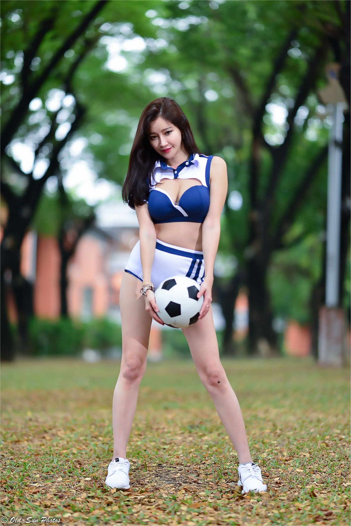 VOL.734 [台湾正妹]妹子足球宝贝:詹艾葳(腿模Avril,腿模Arvil)超高清个人性感漂亮大图(83P)