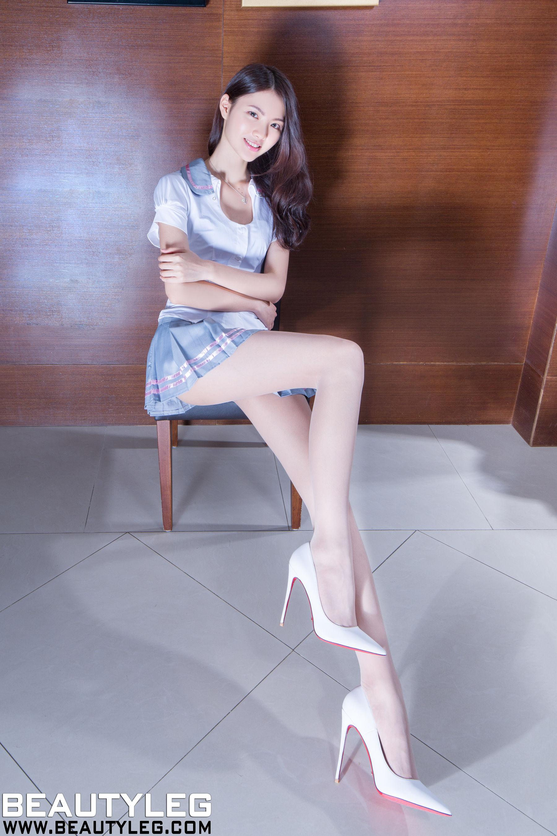 VOL.294 [Beautyleg]制服美腿:梁以辰(钟幸村)超高清个人性感漂亮大图(45P)