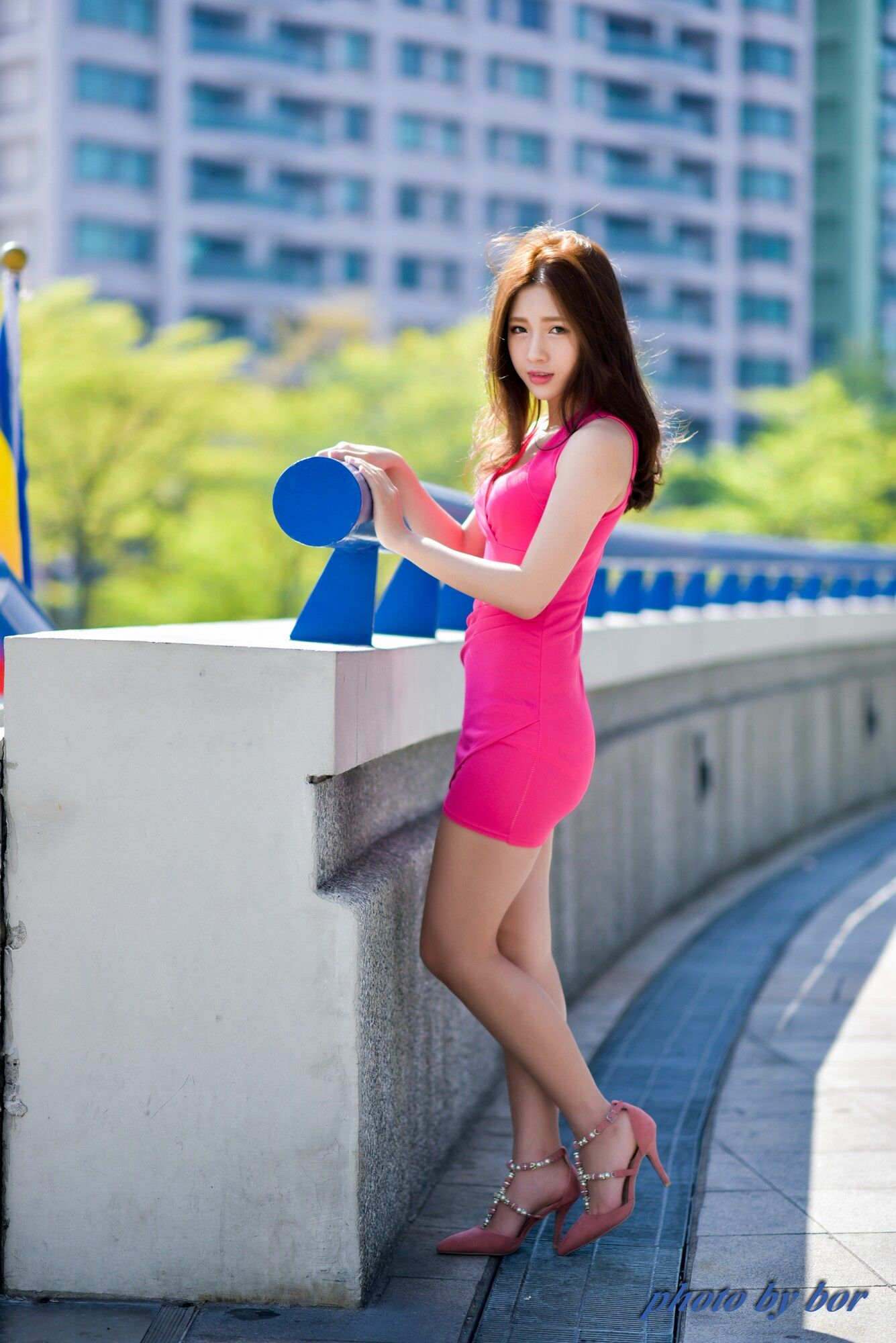 VOL.1245 [台湾正妹]清新阳光正妹街拍短裙:胡安绮(Chichy胡绮)超高清个人性感漂亮大图(61P)