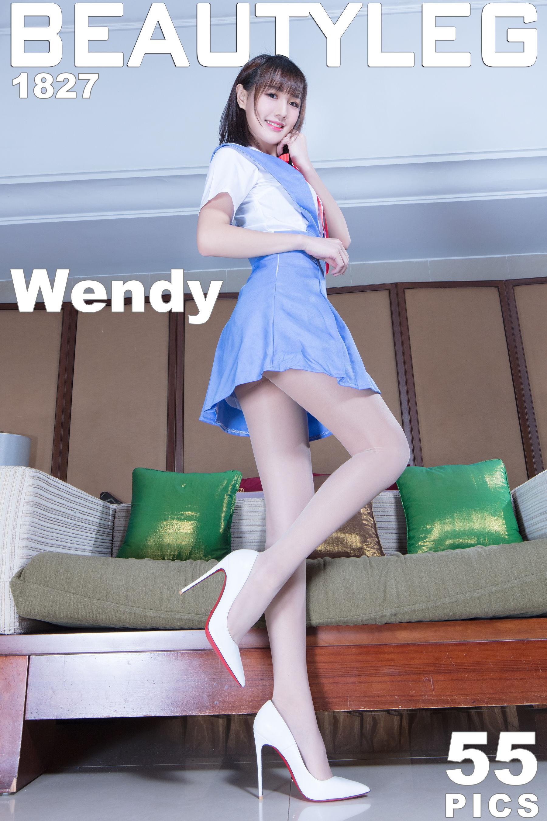 VOL.1710 [Beautyleg]制服丝袜美腿:腿模Wendy(Beautyleg Wendy)超高清个人性感漂亮大图(49P)