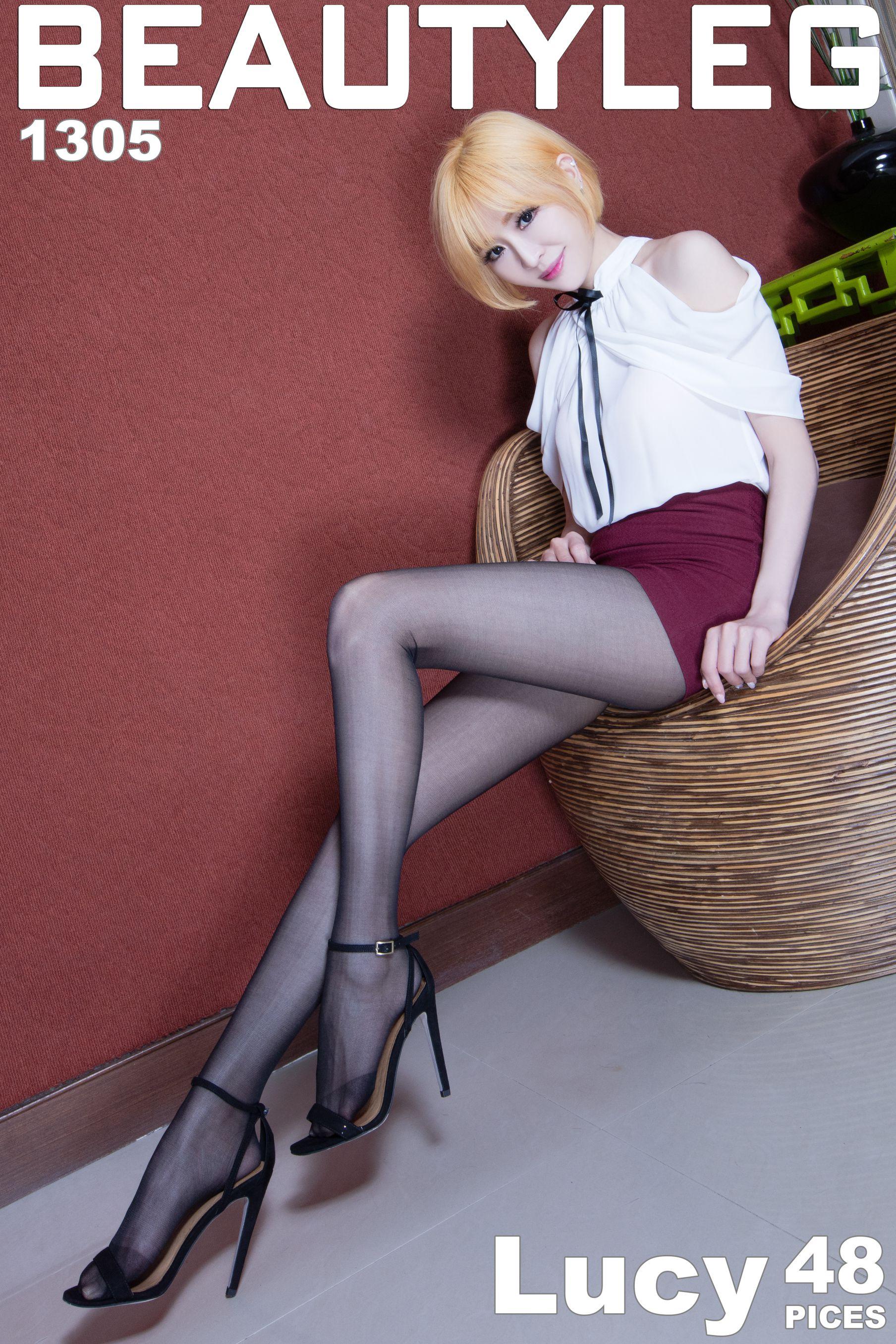 VOL.245 [Beautyleg]美腿极品丝袜美腿黑丝:倪千凌(腿模Lucy,陈佳筠)超高清个人性感漂亮大图(43P)