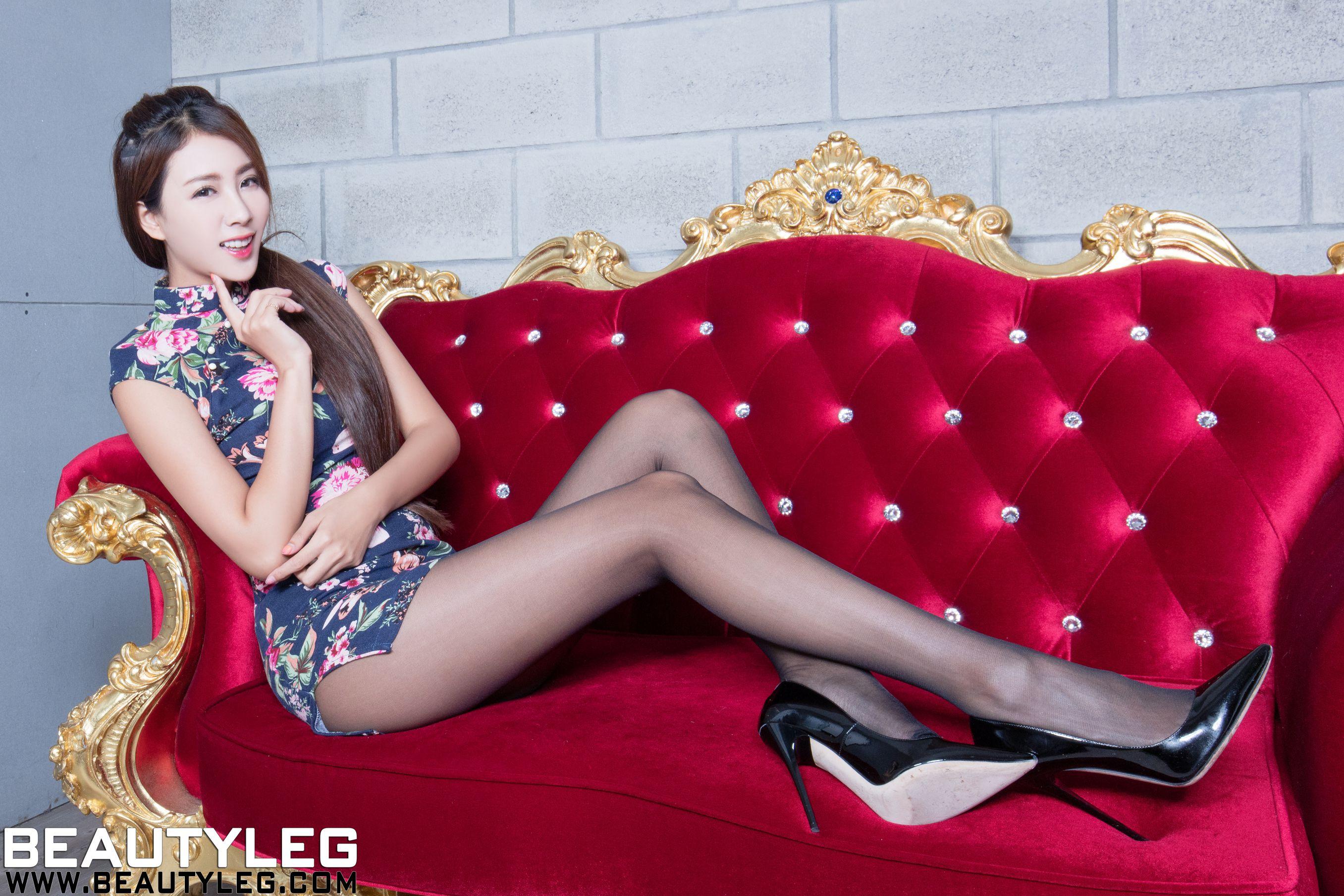 VOL.679 [Beautyleg]美腿旗袍黑丝腿模:夏晴(夏晴Miso,腿模Miso)超高清个人性感漂亮大图(32P)