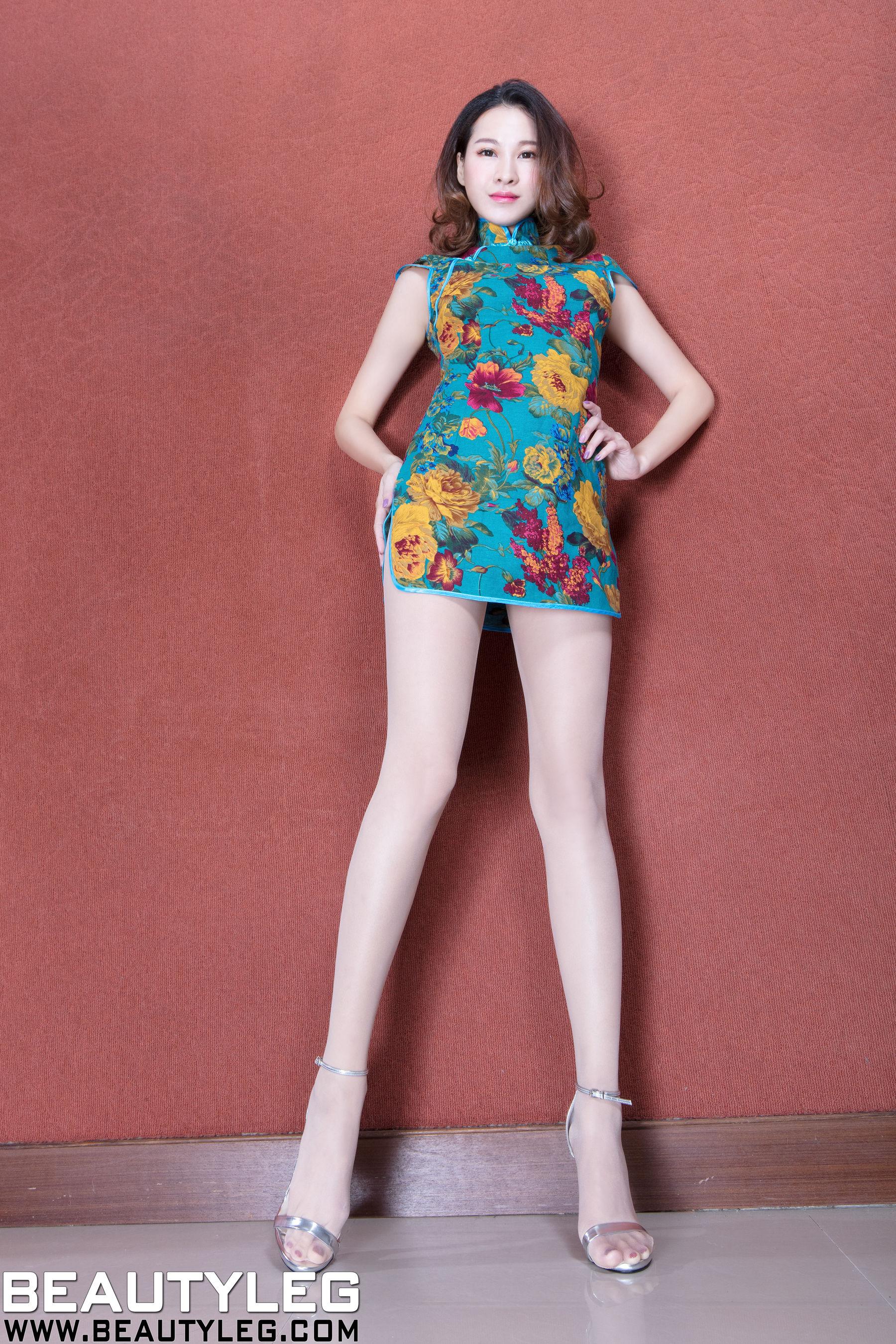 VOL.1904 [Beautyleg]美腿旗袍高跟:黄镫娴(腿模Neko)超高清个人性感漂亮大图(46P)