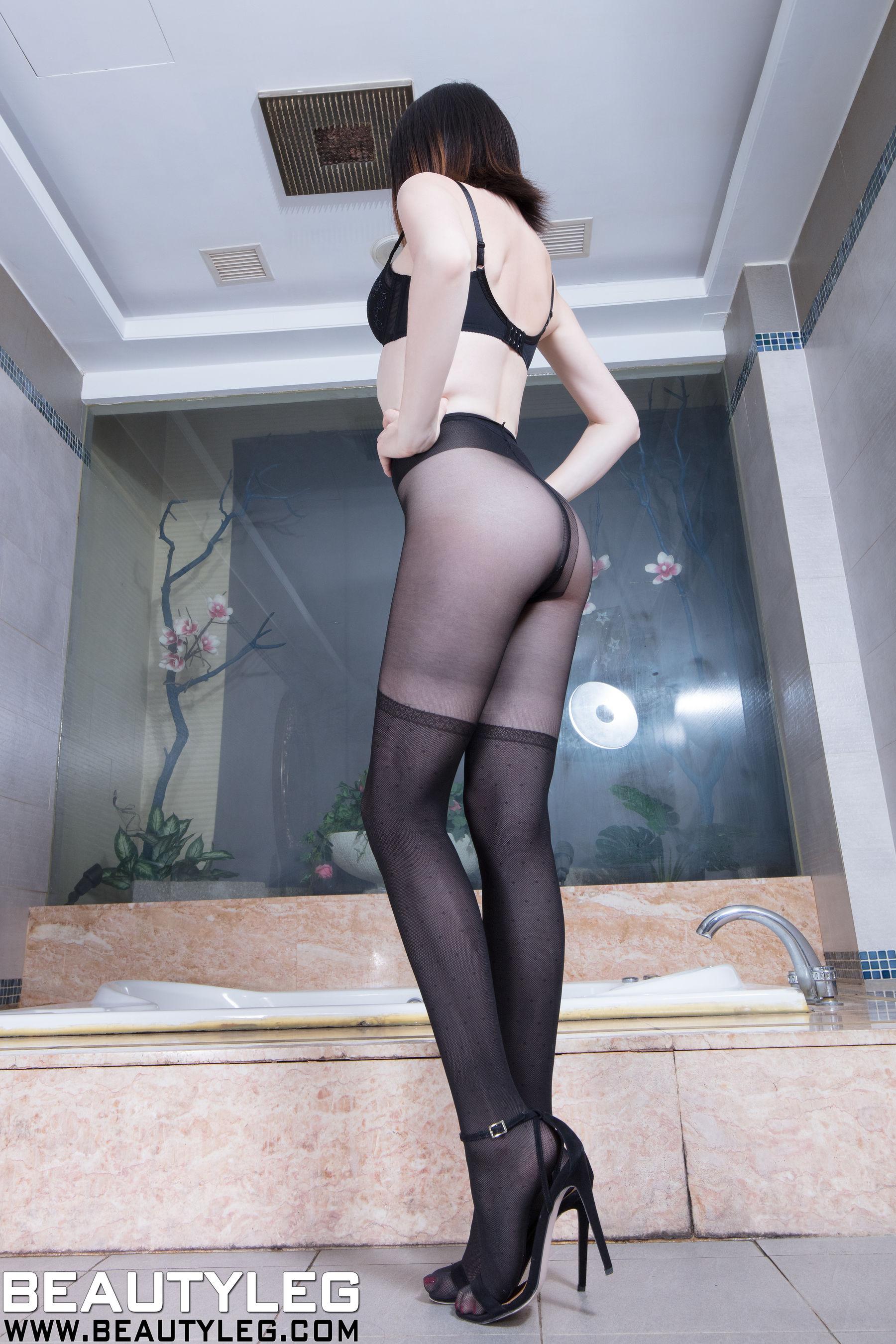 VOL.16 [Beautyleg]黑丝丝袜诱惑:腿模Anonymity超高清个人性感漂亮大图(23P)