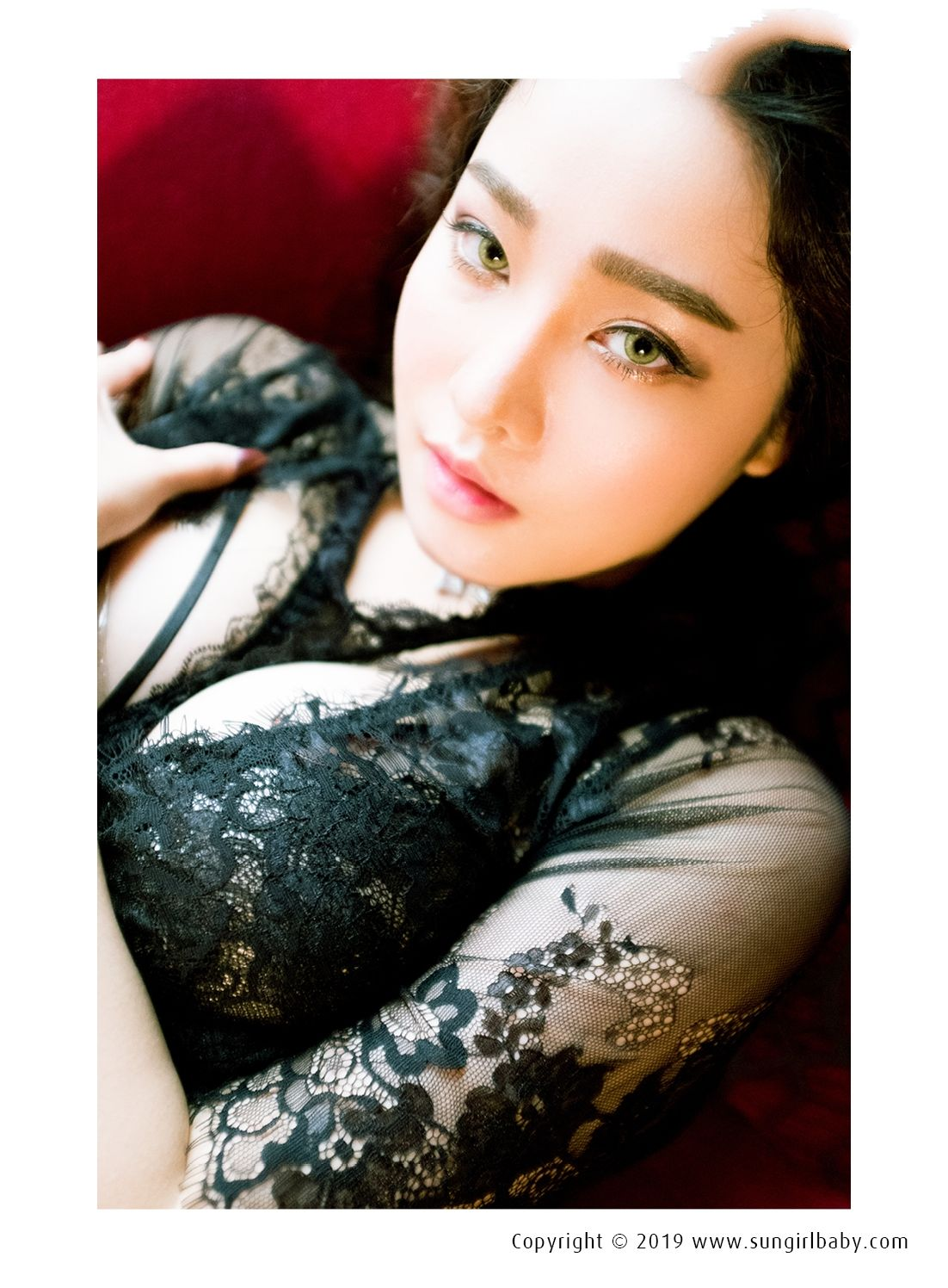 VOL.662 [阳光宝贝]蕾丝魅惑美女:章梓薰(台湾模特梓薰)超高清个人性感漂亮大图(21P)