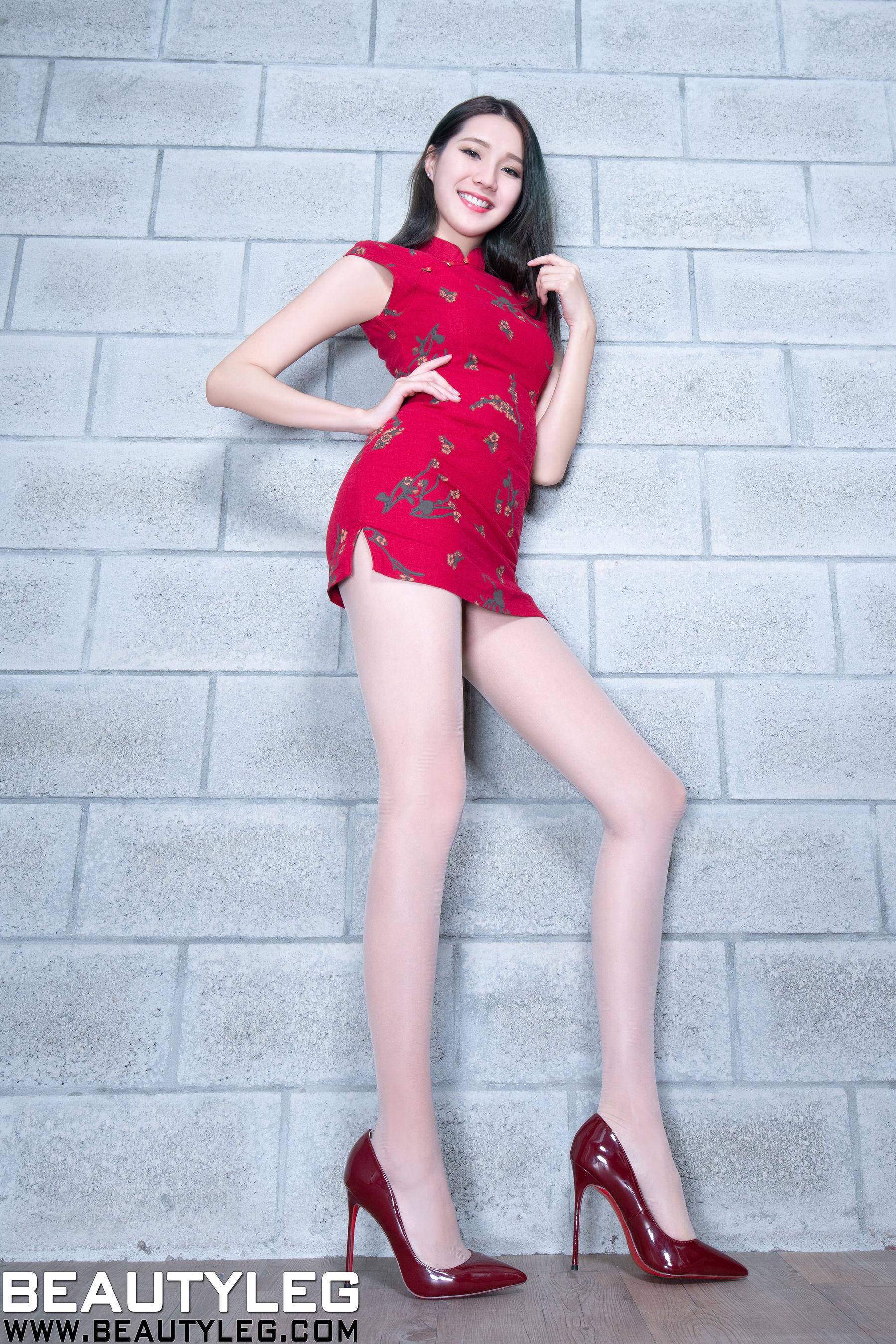 VOL.1431 [Beautyleg]美腿旗袍高跟:林千如(腿模Anita)超高清个人性感漂亮大图(52P)