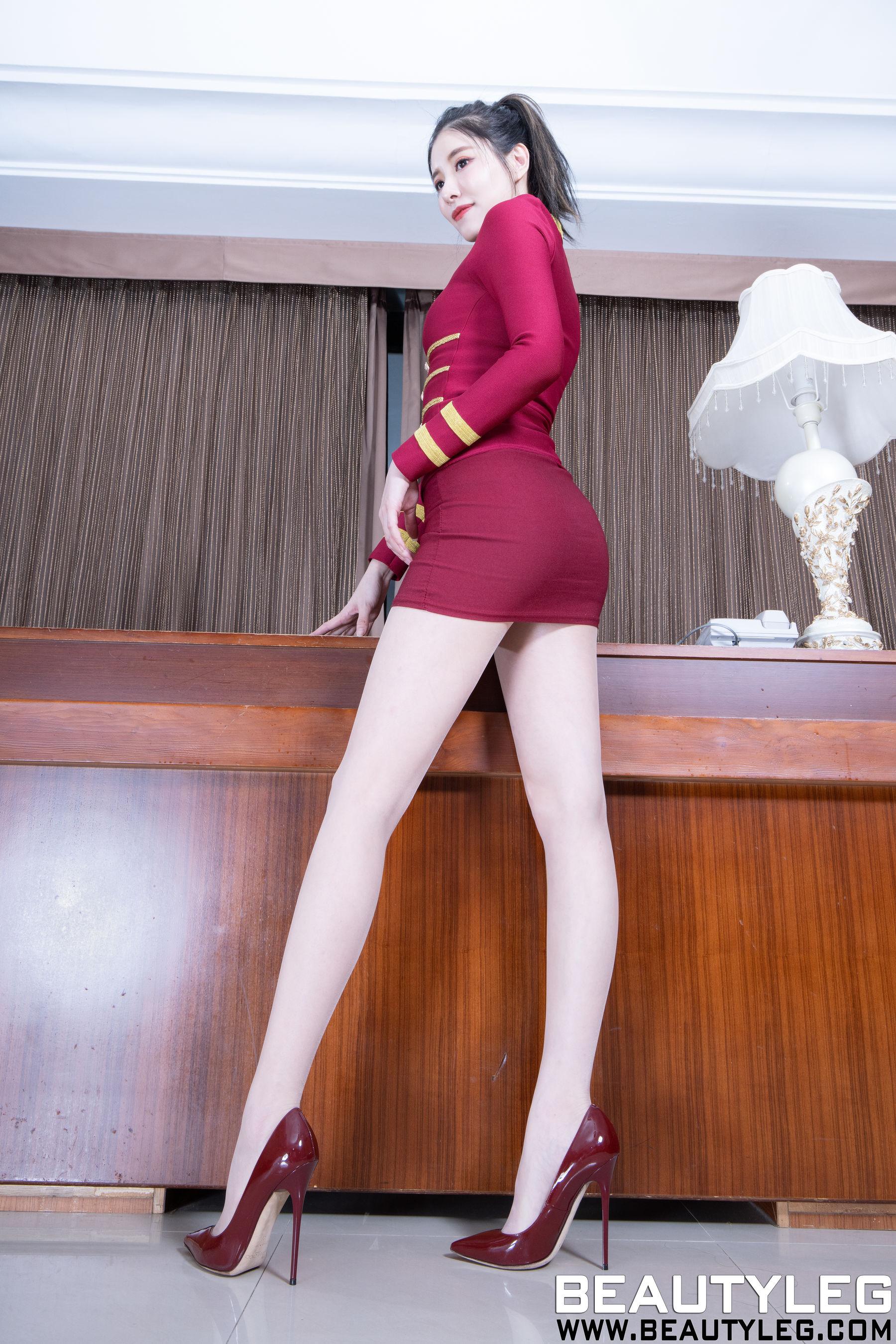 VOL.1604 [Beautyleg]制服:陈玉雪(腿模Abby)超高清个人性感漂亮大图(46P)