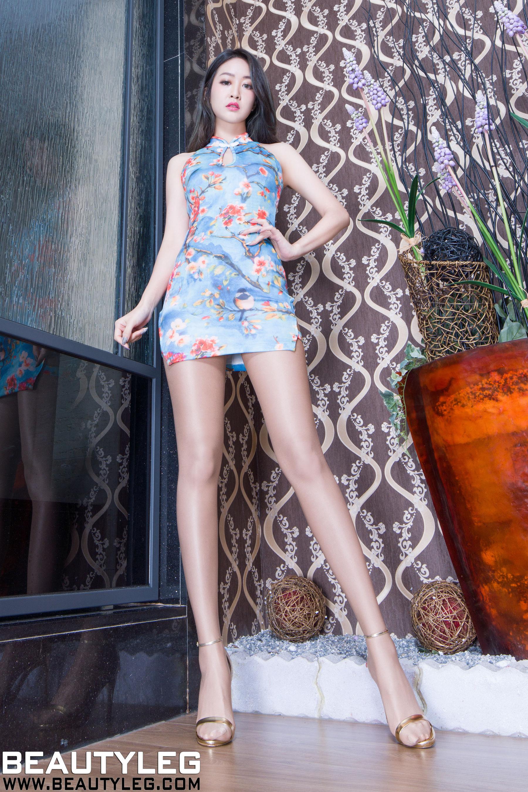 VOL.1359 [Beautyleg]丝袜美腿肉丝美腿:康凯乐(腿模Kaylar)超高清个人性感漂亮大图(46P)