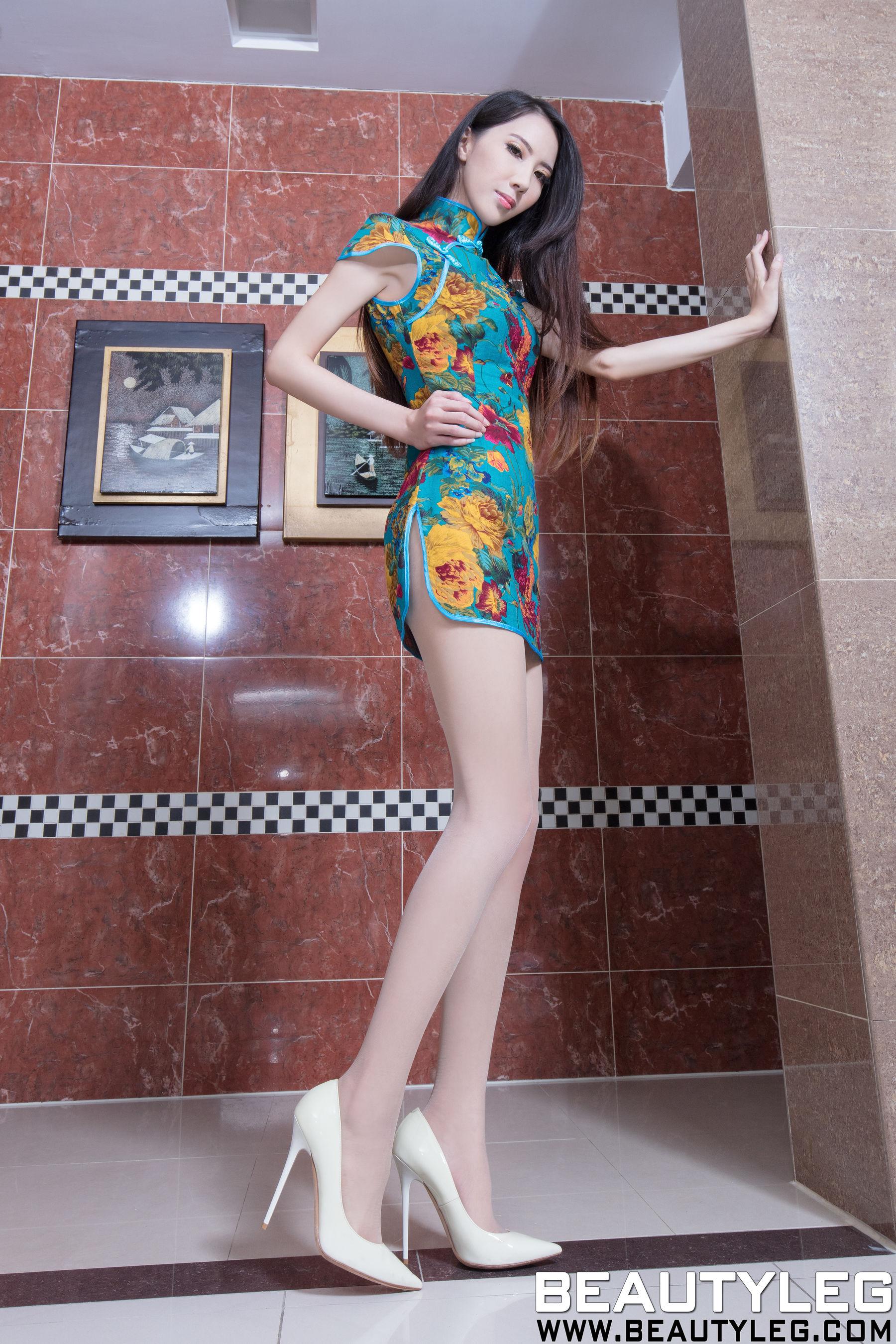 VOL.548 [Beautyleg]美腿丝袜美腿高跟:童采萱(Beautyleg Yoyo,腿模Yoyo)超高清个人性感漂亮大图(52P)