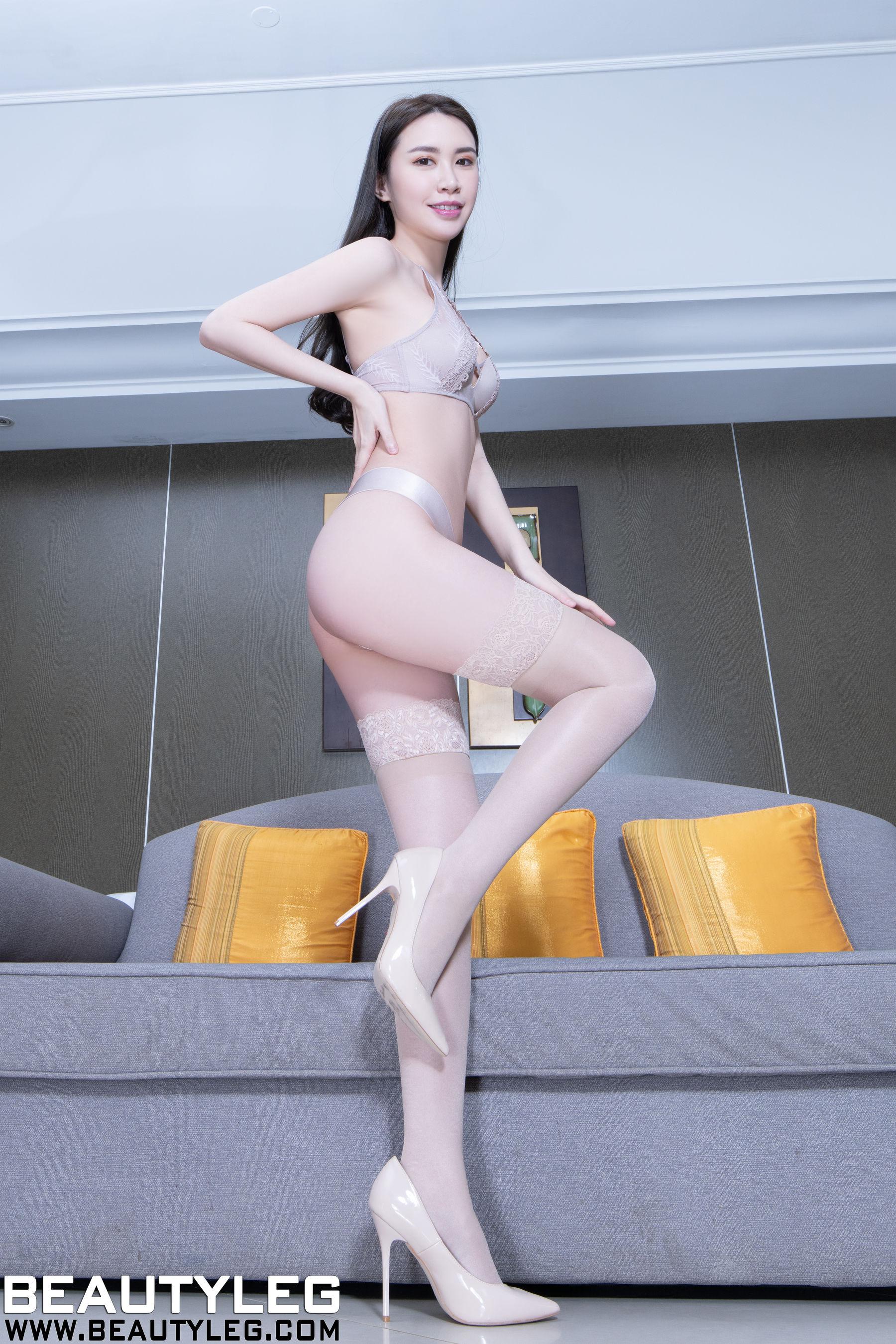 VOL.285 [Beautyleg]内衣美女:崔多朵(崔德蓉,腿模Stephy)超高清个人性感漂亮大图(43P)