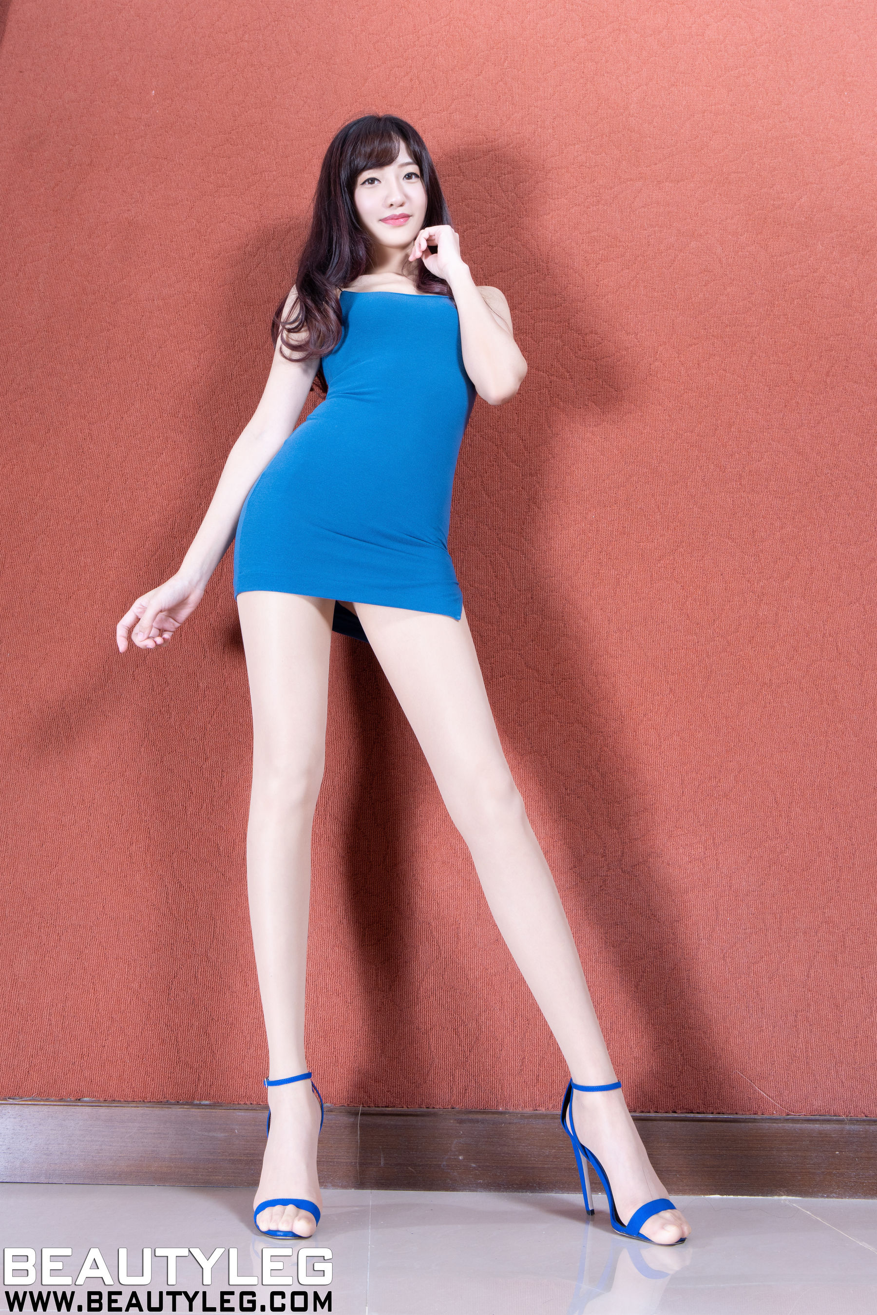 VOL.311 [Beautyleg]高跟美腿吊带:欣洁(腿模Celia)超高清个人性感漂亮大图(48P)