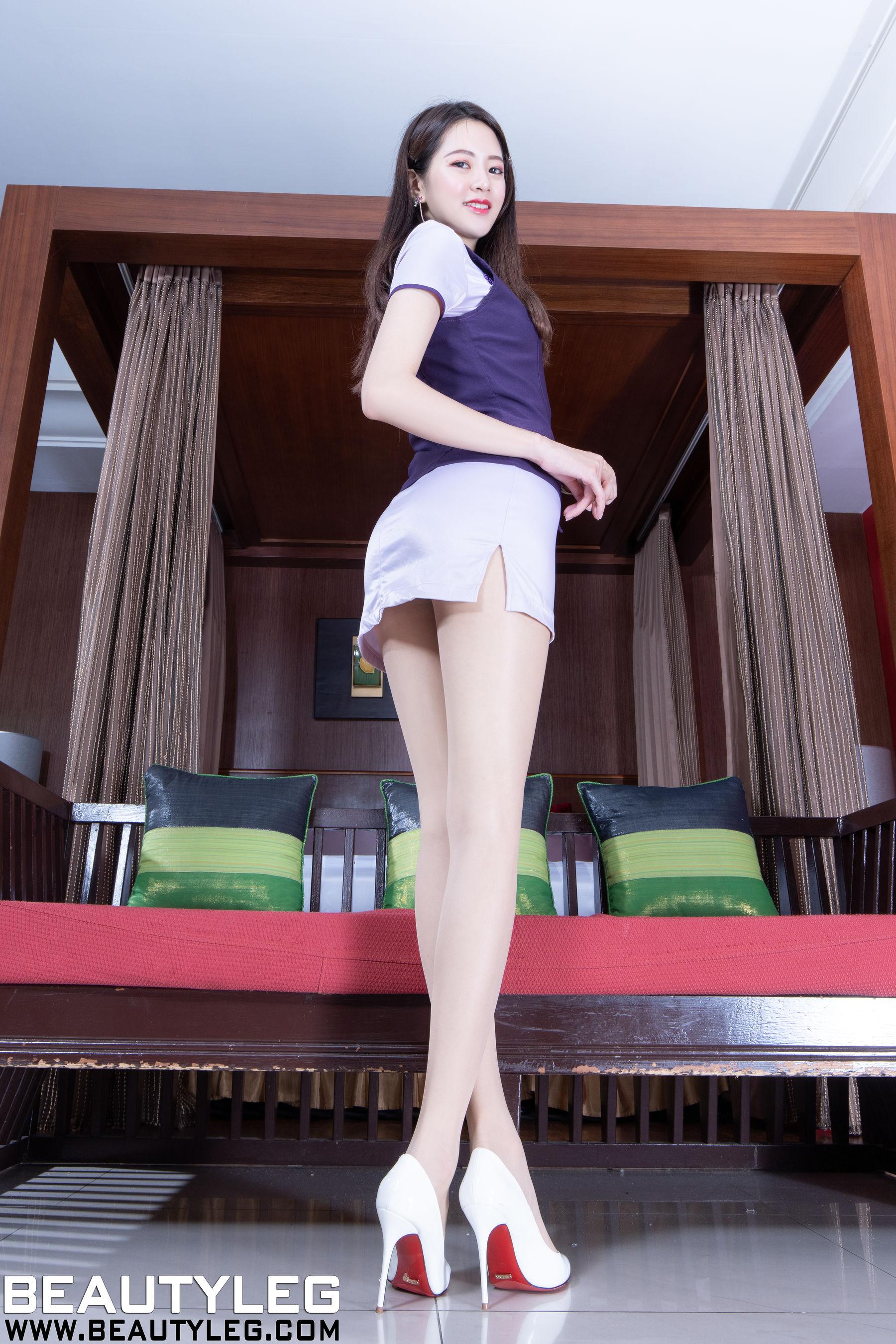 VOL.1512 [Beautyleg]肉丝美腿:腿模Una(Beautyleg Una)超高清个人性感漂亮大图(35P)