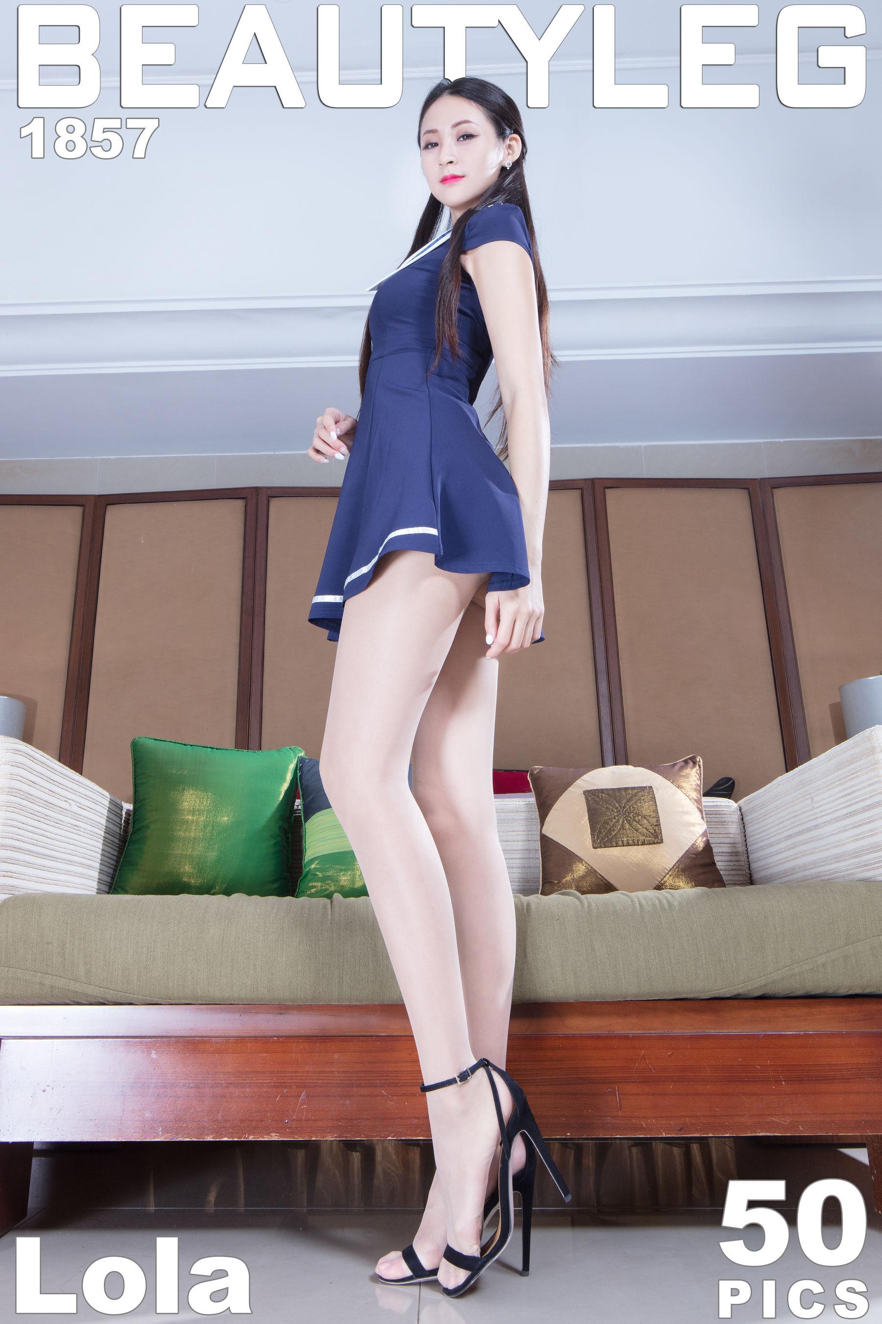 VOL.765 [Beautyleg]超短裙美腿高跟:Lola雪岑(腿模Lola)超高清个人性感漂亮大图(44P)