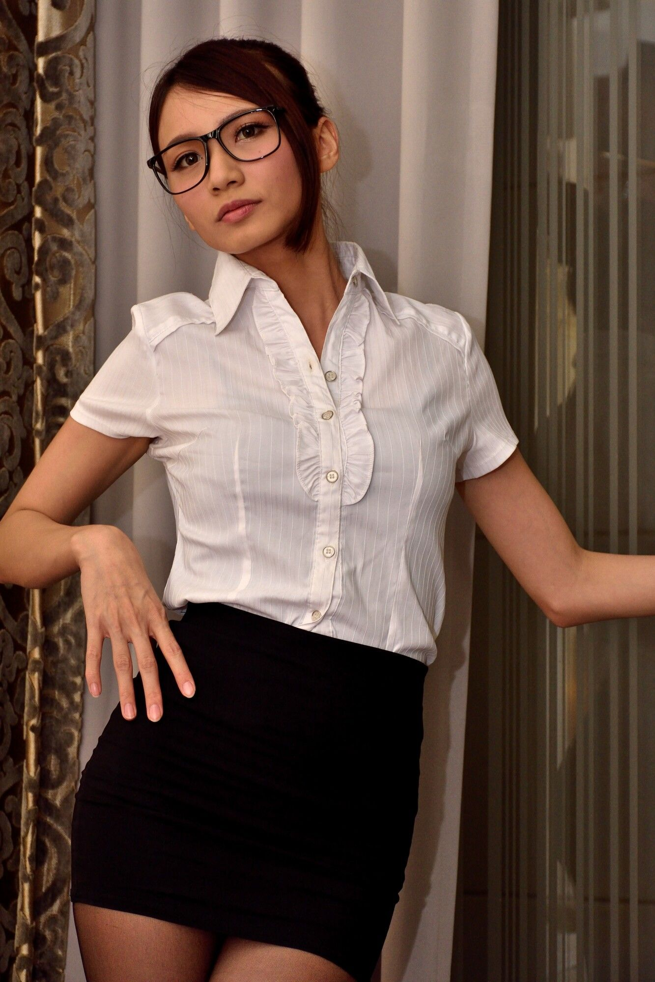 VOL.158 [台湾正妹]嫩模长腿美女:蔡译心(Candice)超高清个人性感漂亮大图(53P)