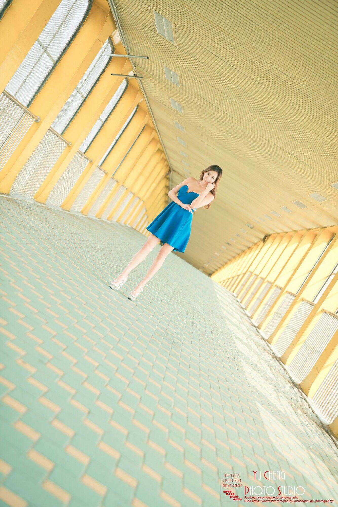VOL.306 [台湾正妹]正妹连衣裙OL美女街拍美腿:李佳蓉超高清个人性感漂亮大图(45P)