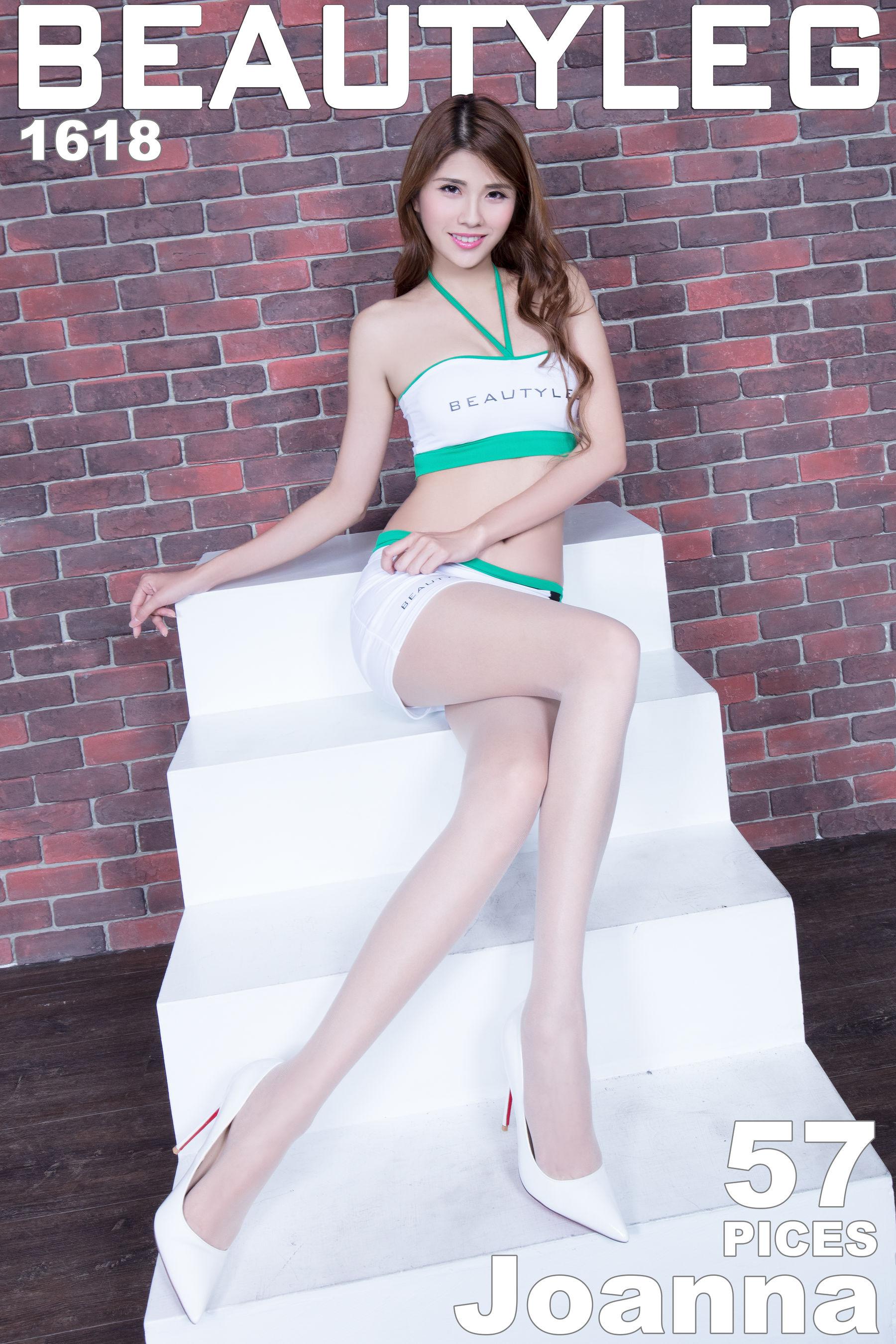 VOL.1292 [Beautyleg]高跟长腿美女:腿模Joanna超高清个人性感漂亮大图(57P)