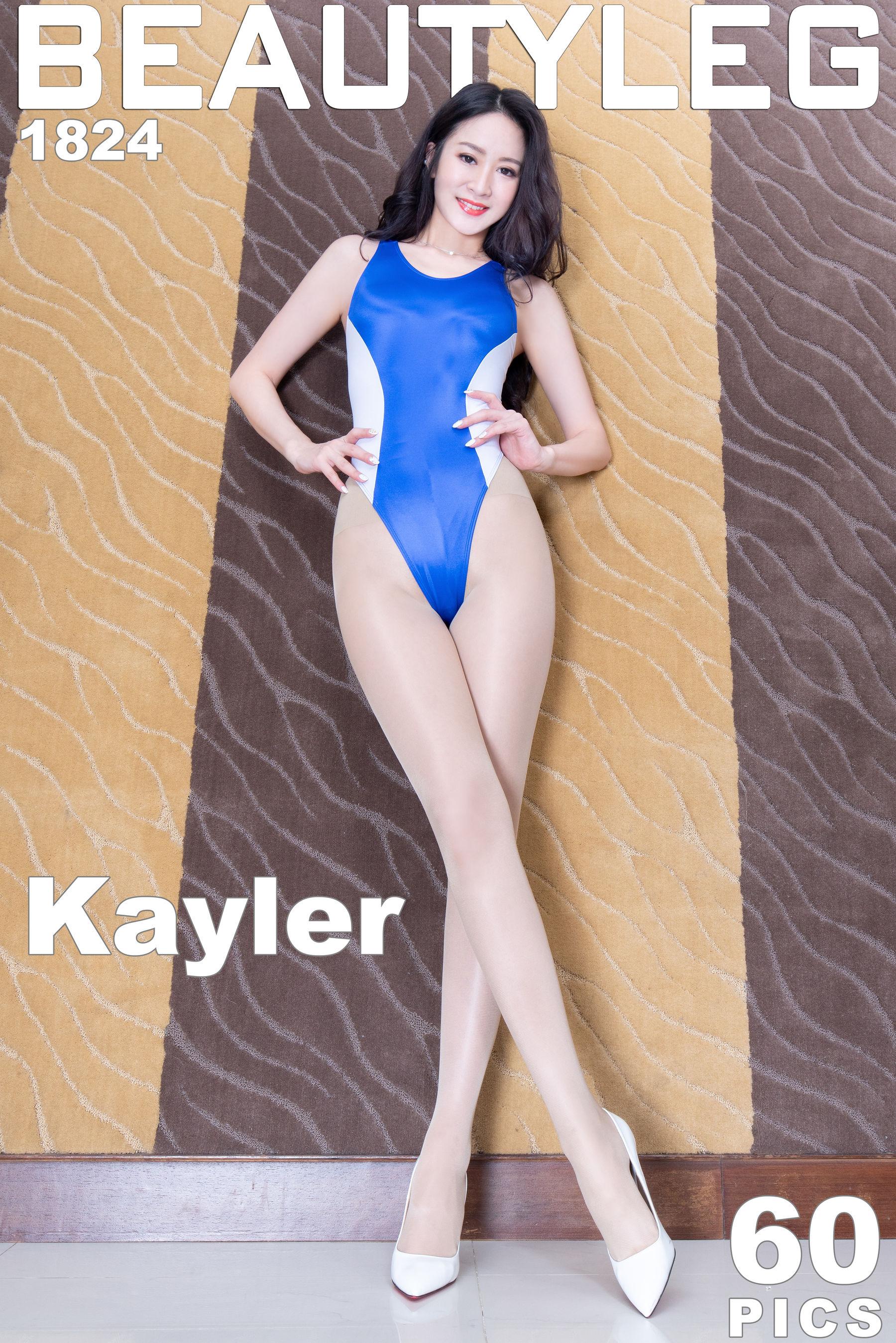 VOL.1863 [Beautyleg]高叉泳装长腿美女:康凯乐(腿模Kaylar)超高清个人性感漂亮大图(55P)