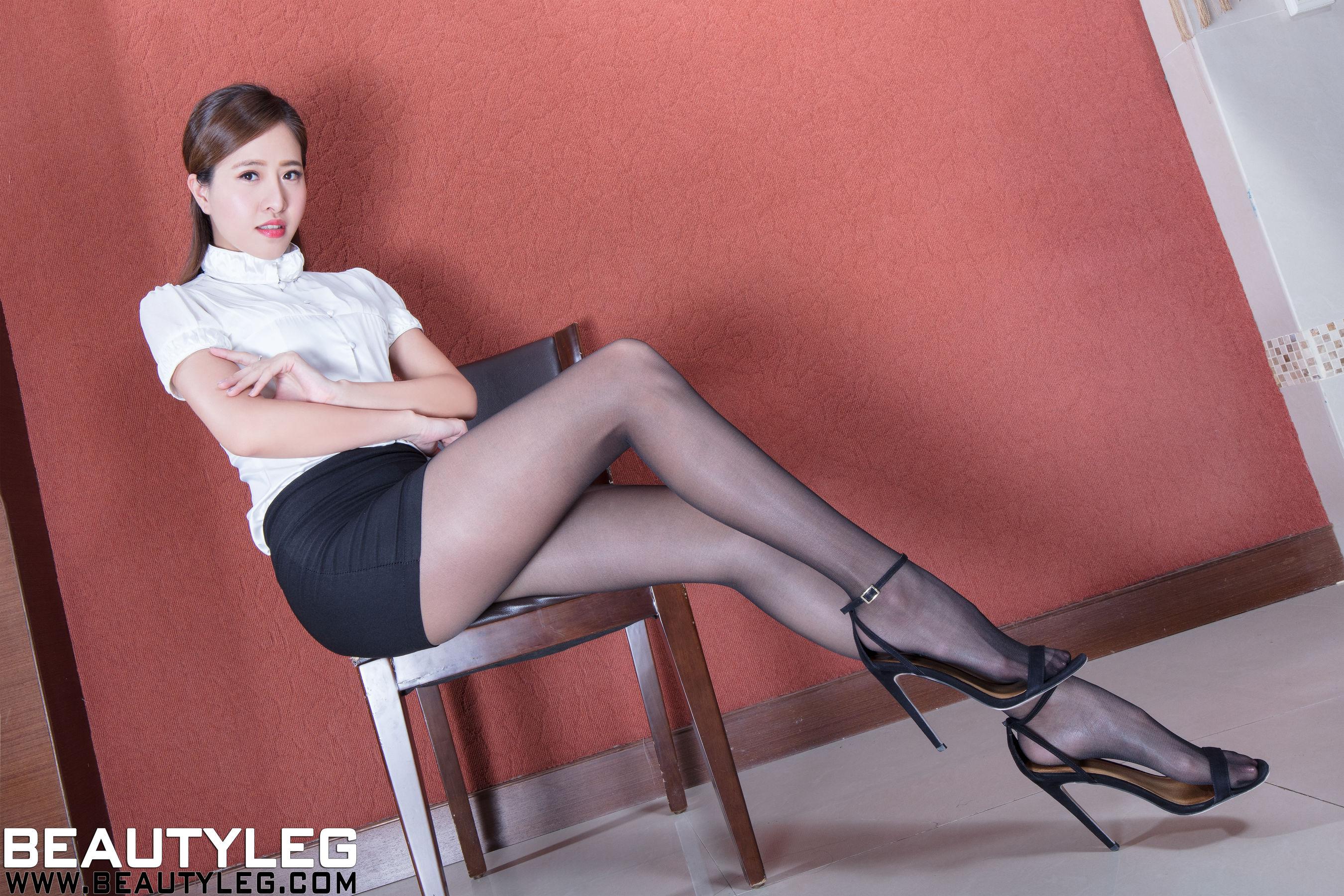 VOL.1449 [Beautyleg]丝袜美腿黑丝美腿:张欣慈(腿模Olivia)超高清个人性感漂亮大图(53P)