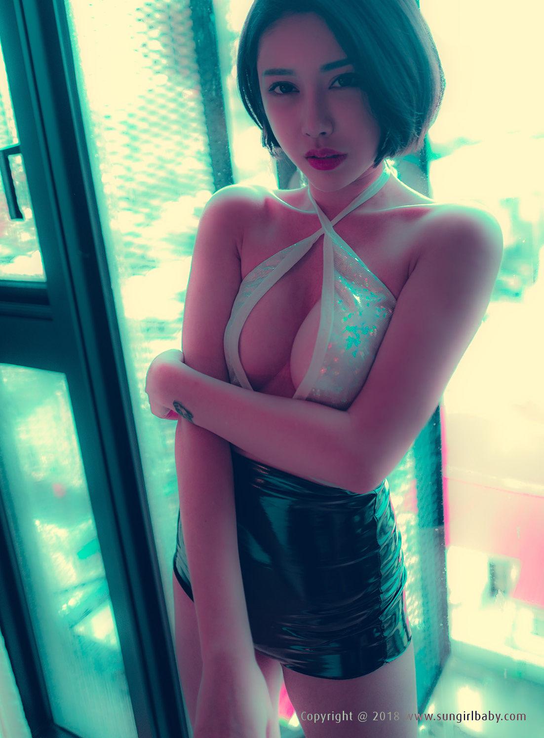 VOL.285 [阳光宝贝]美胸人体艺术惊艳:龚映璇(龚颖涵Queenie)超高清个人性感漂亮大图(47P)