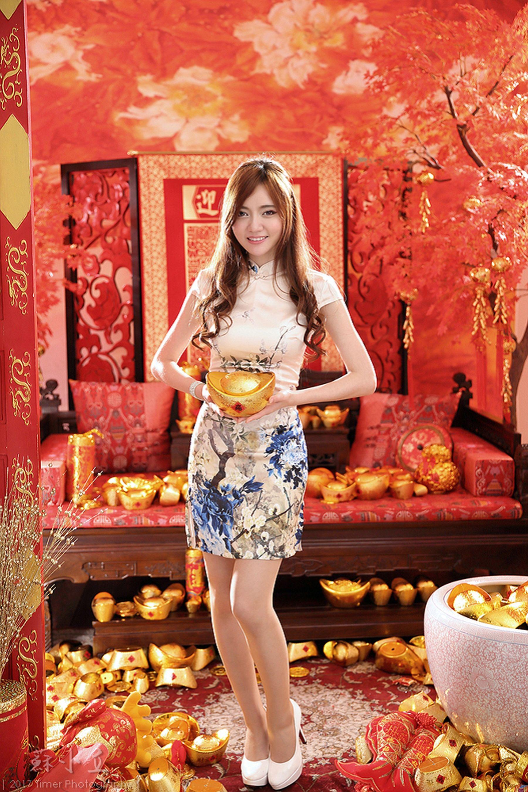 VOL.585 [台湾正妹]古典优雅美女:苏小立超高清个人性感漂亮大图(87P)