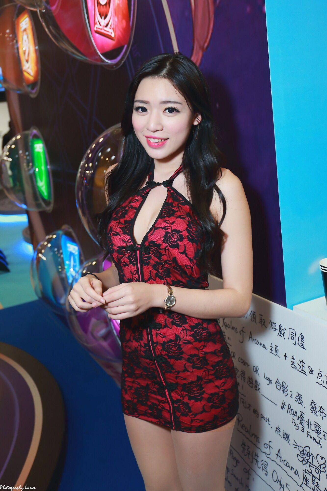 VOL.1501 [台湾正妹]Show Girl:展台美女超高清个人性感漂亮大图(100P)