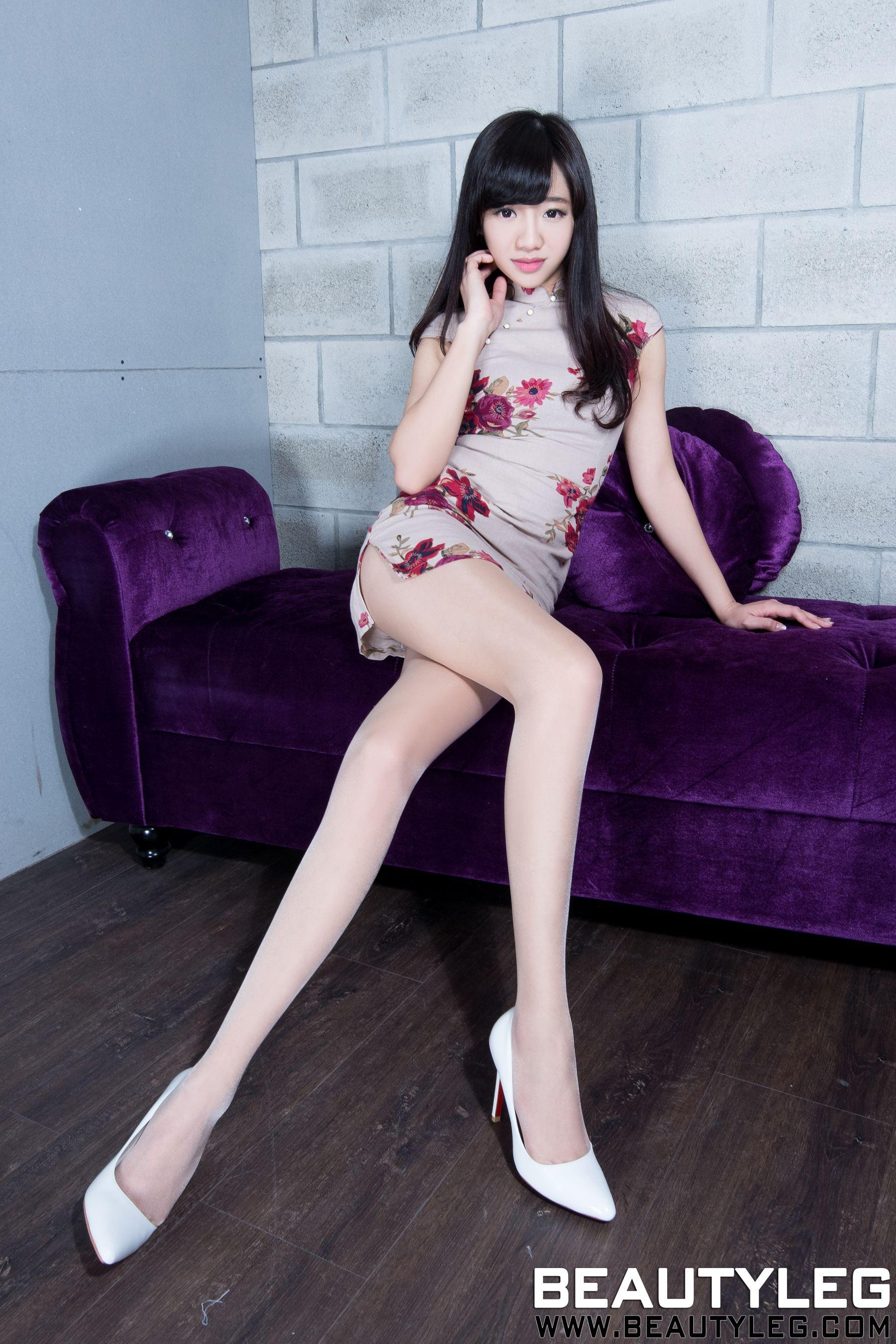 VOL.1203 [Beautyleg]美腿旗袍:欣洁(腿模Celia)超高清个人性感漂亮大图(69P)