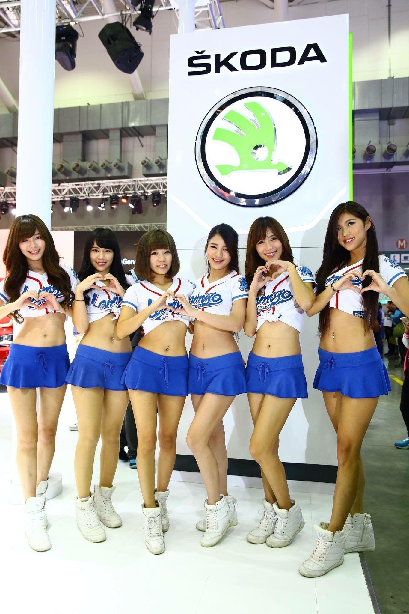 VOL.1503 [台湾正妹]Show Girl车模香车美女:展台美女超高清个人性感漂亮大图(129P)