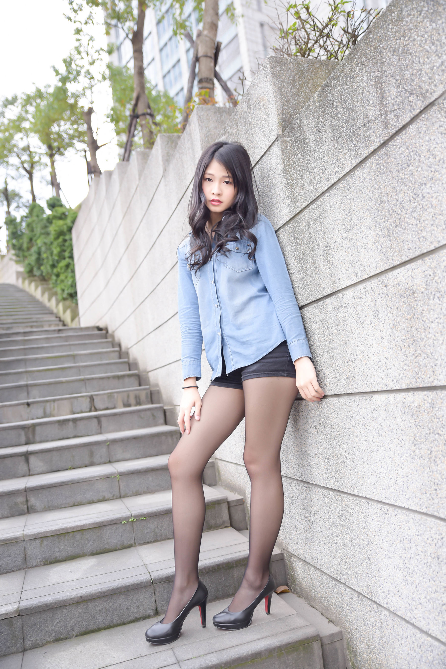 VOL.1930 [台湾正妹]美腿街拍黑丝软妹:小枫超高清个人性感漂亮大图(94P)
