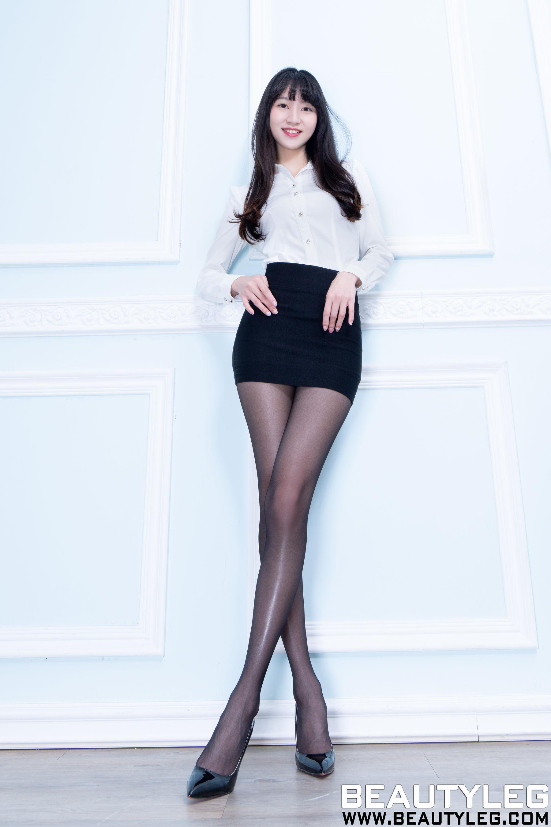 VOL.459 [Beautyleg]美腿黑丝美腿:腿模JoJo(Beautyleg JoJo)超高清个人性感漂亮大图(45P)