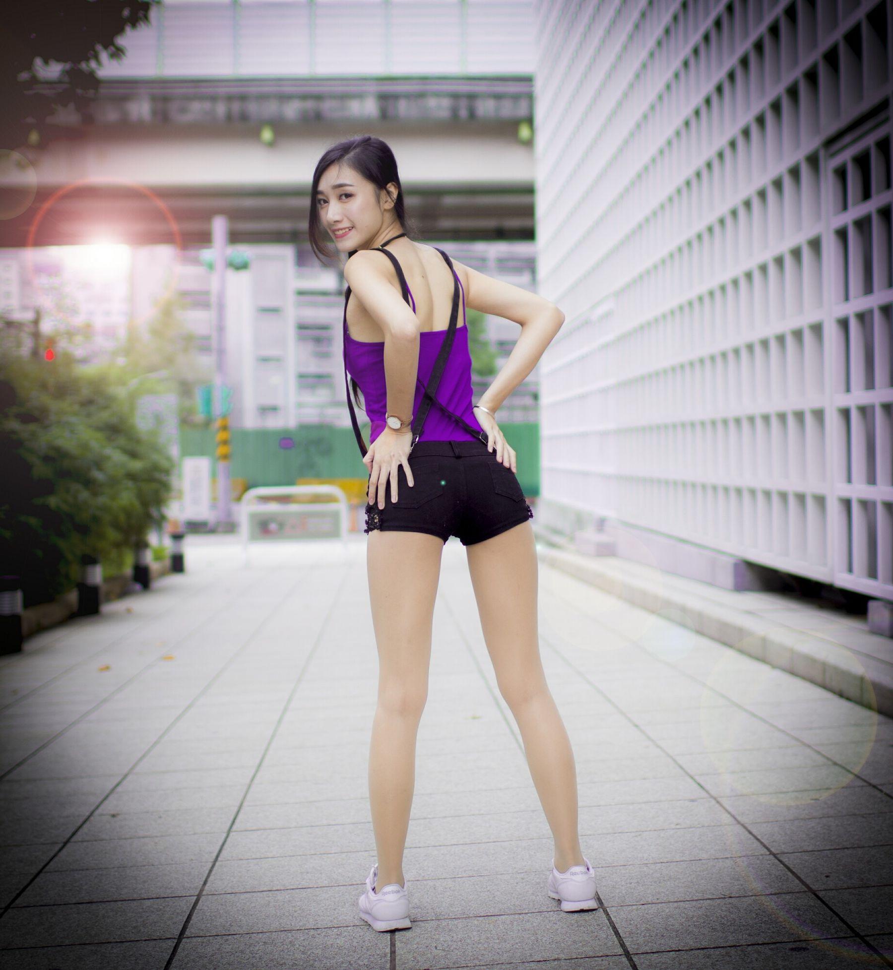 VOL.65 [台湾正妹]正妹长腿美女街拍美臀街拍美腿:段璟乐(段乐乐)超高清个人性感漂亮大图(32P)