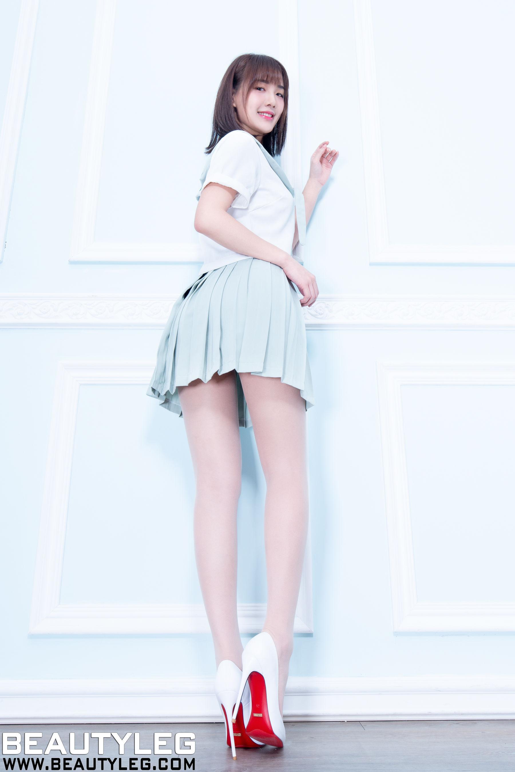 VOL.397 [Beautyleg]制服美腿肉丝美腿:腿模Wendy(Beautyleg Wendy)超高清个人性感漂亮大图(71P)