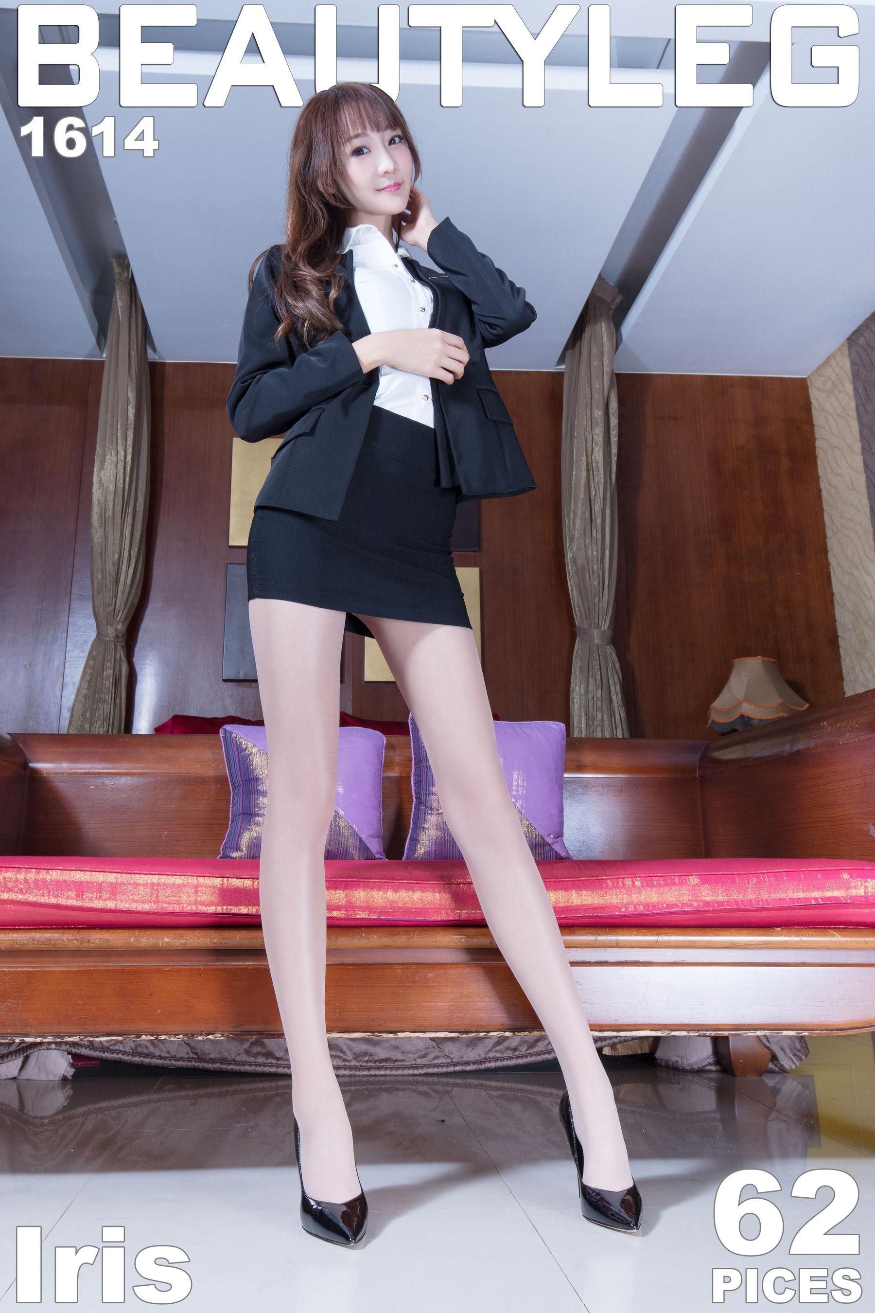 VOL.767 [Beautyleg]丝袜美腿高跟美腿长腿美女:刘萱(腿模Iris)超高清个人性感漂亮大图(62P)