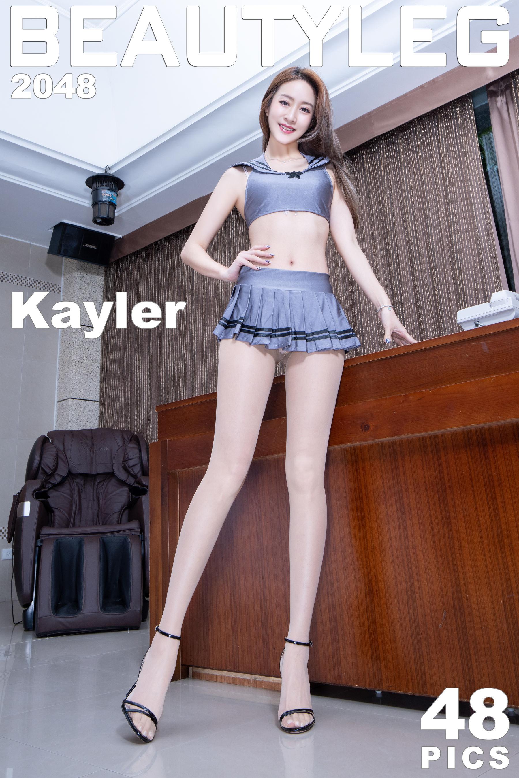 VOL.531 [Beautyleg]高跟肉丝美腿:康凯乐(腿模Kaylar)超高清个人性感漂亮大图(23P)