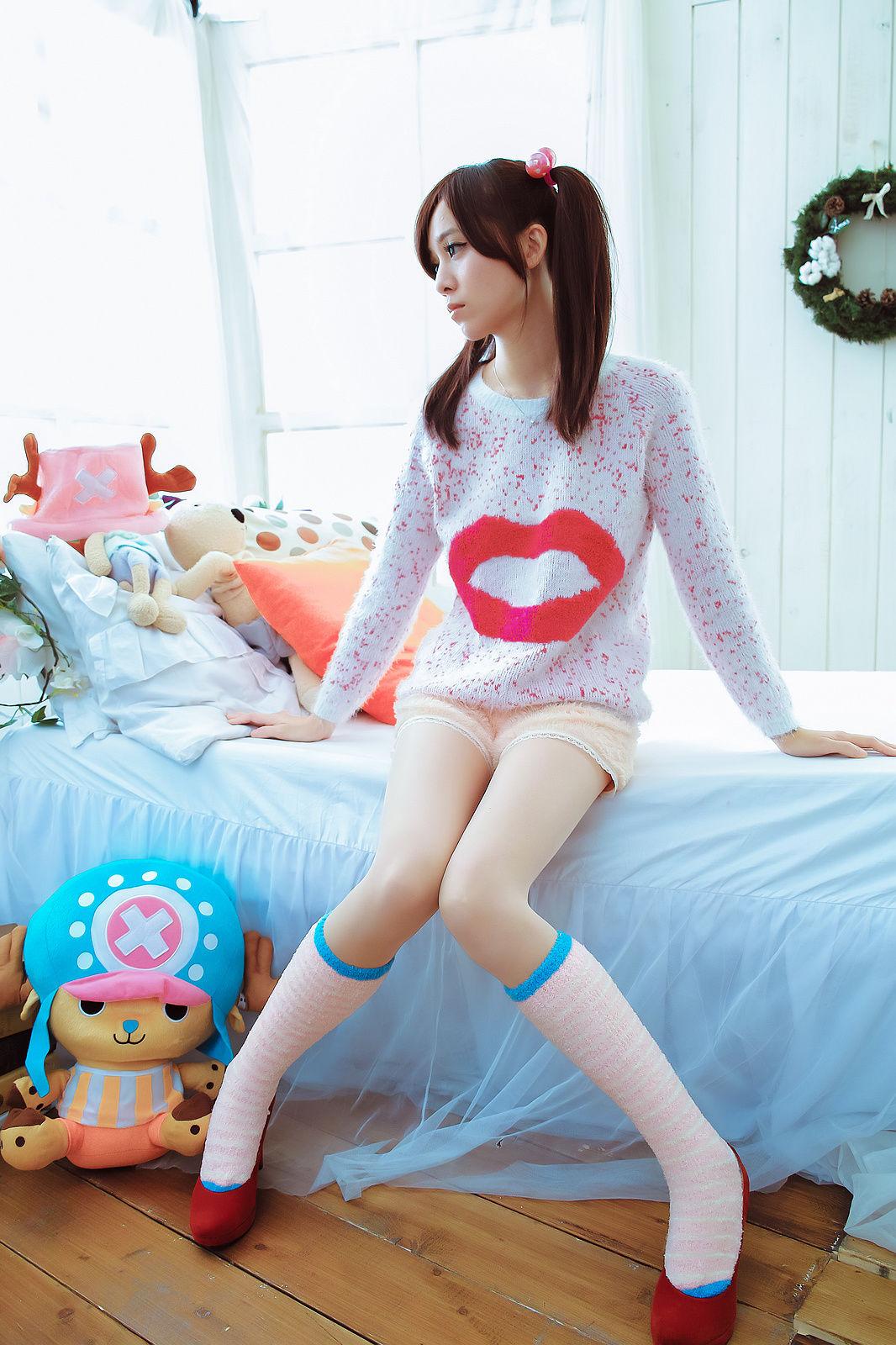 VOL.383 [台湾正妹]可爱萌女少女双马尾:林千如(腿模Anita)超高清个人性感漂亮大图(19P)
