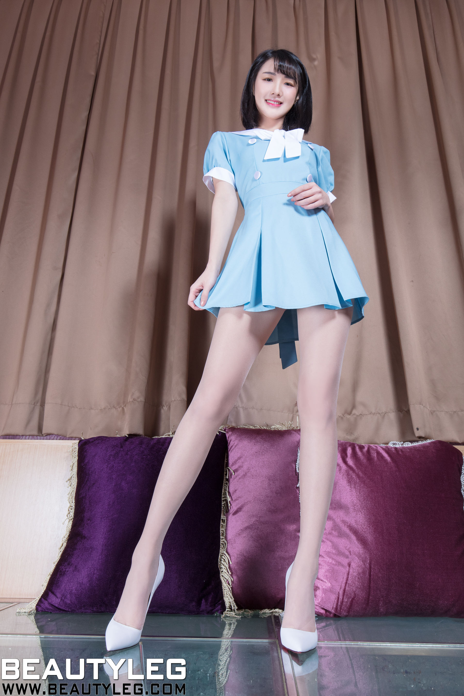 VOL.846 [Beautyleg]制服丝袜美腿长腿美女:腿模Wendy(Beautyleg Wendy)超高清个人性感漂亮大图(39P)