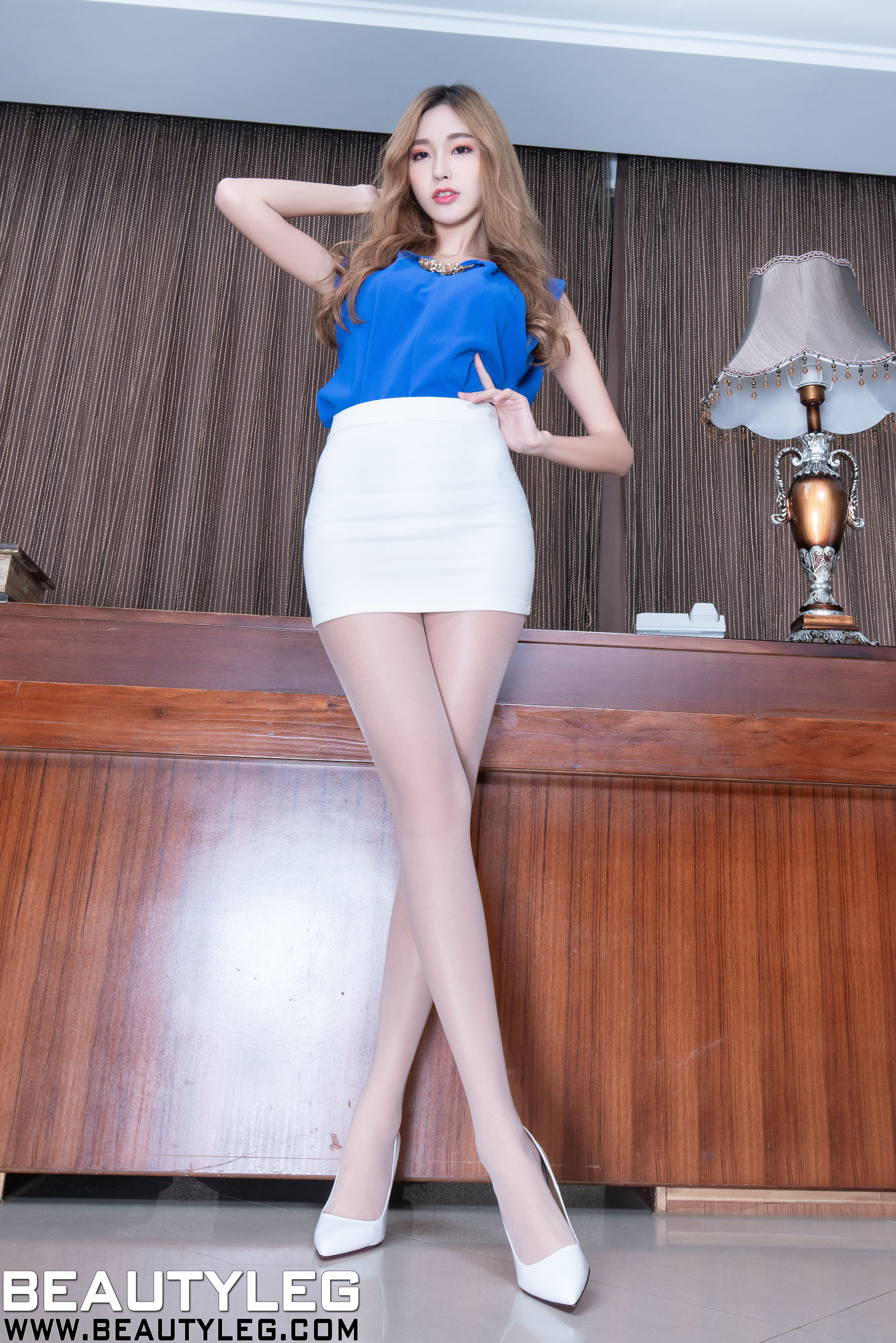 VOL.455 [Beautyleg]超短裙制服丝袜美腿:黄上晏(黄上晏Rubis)超高清个人性感漂亮大图(48P)