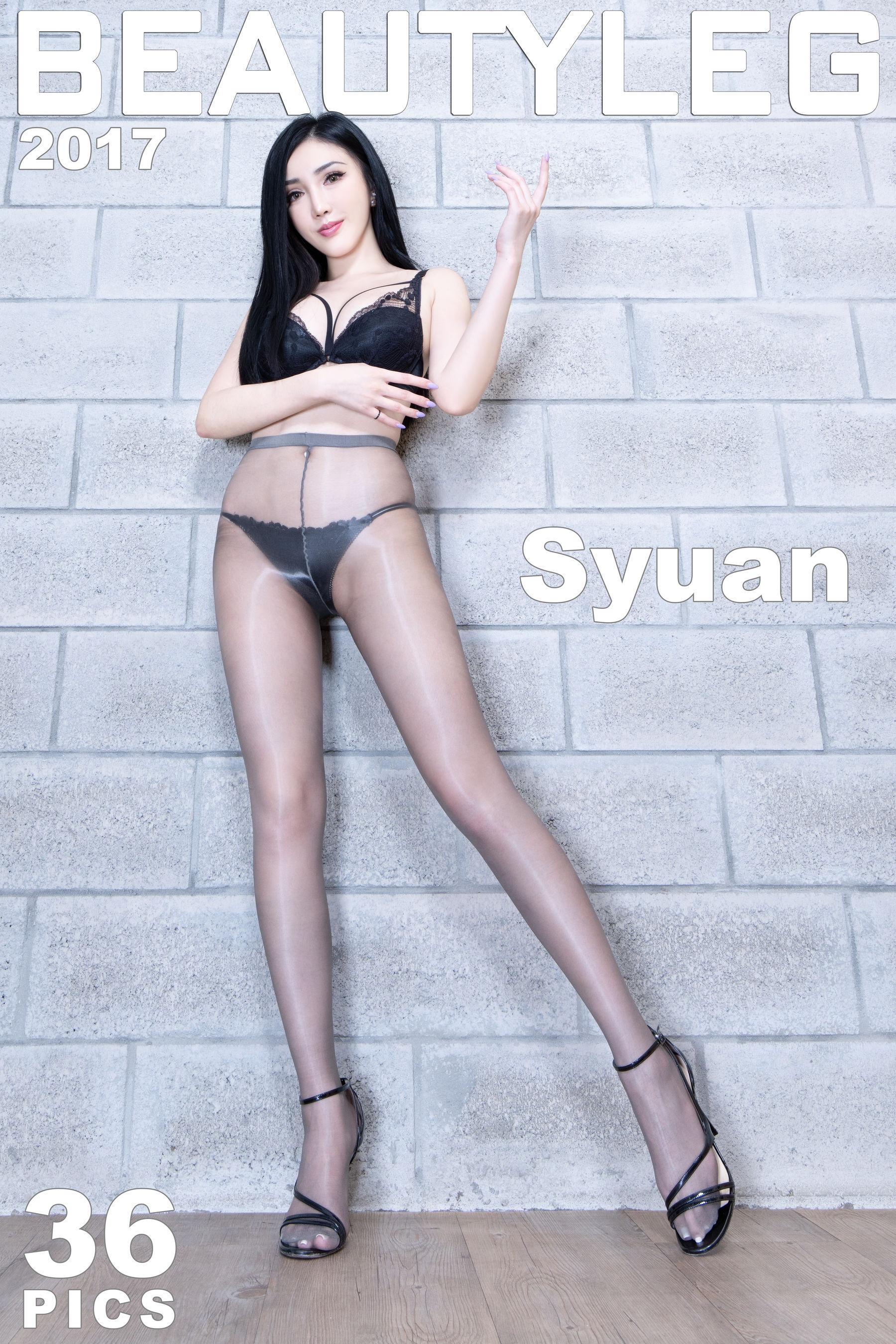 VOL.176 [Beautyleg]黑丝美腿:赵芸(腿模Syuan,Syuan赵芸)超高清个人性感漂亮大图(36P)