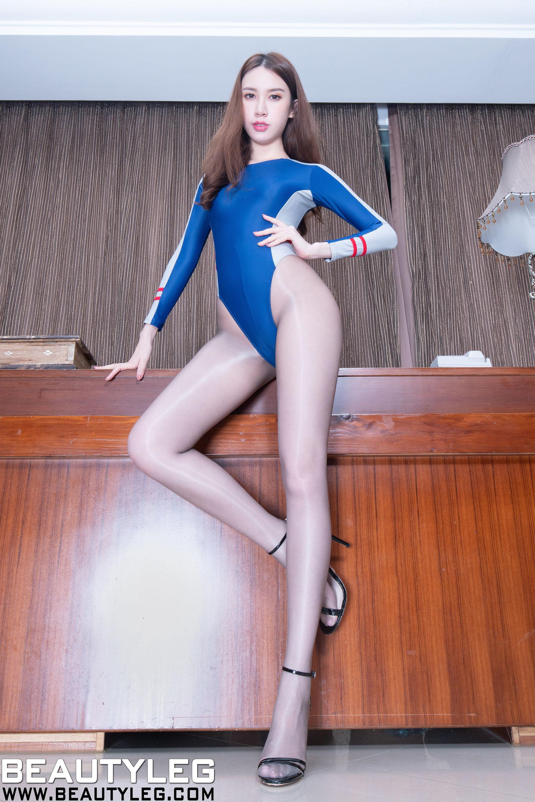 VOL.800 [Beautyleg]丝袜美腿高跟:崔多朵(崔德蓉,腿模Stephy)超高清个人性感漂亮大图(52P)