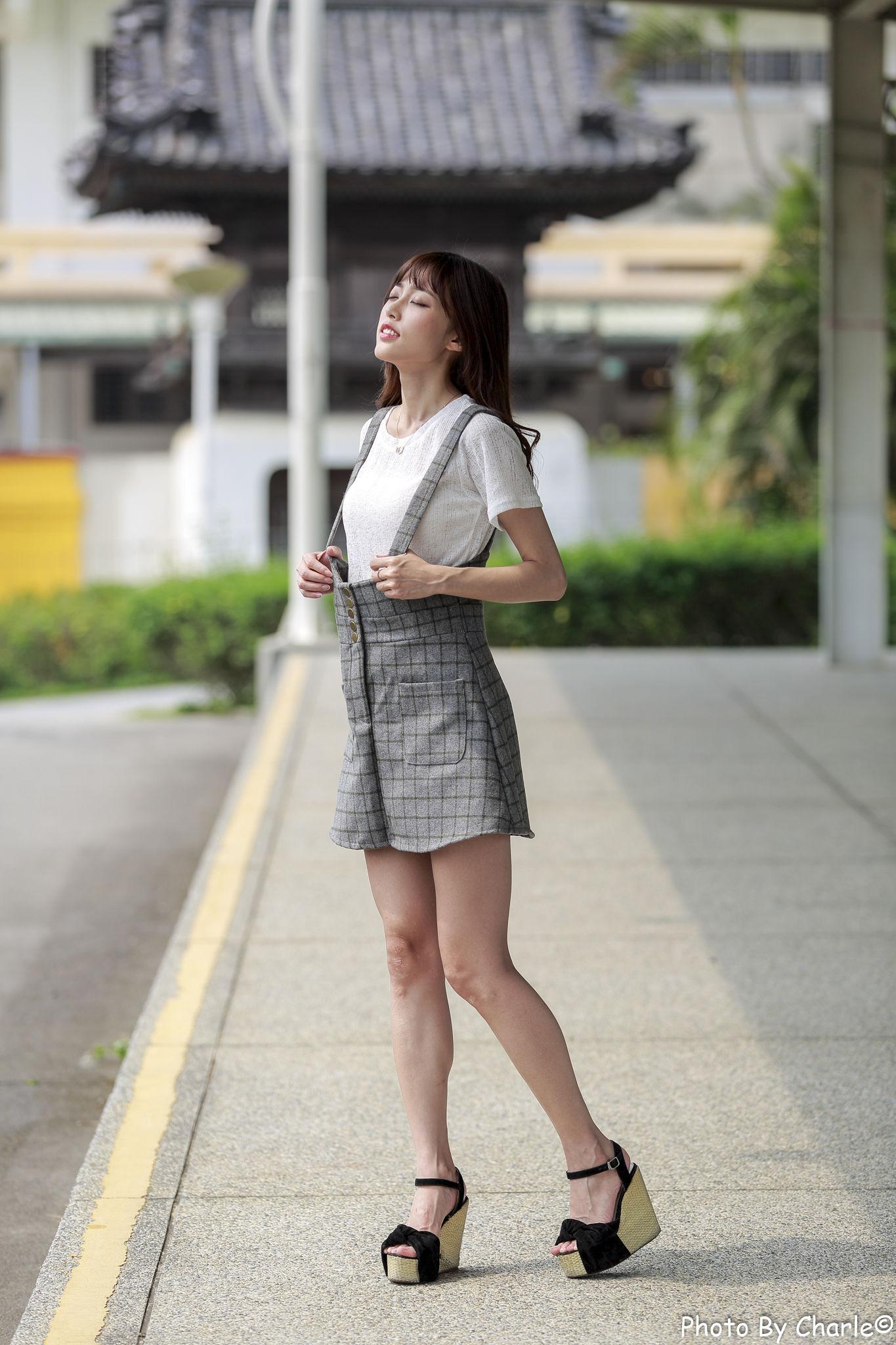 VOL.1021 [台湾正妹]美腿气质街拍:彭丽嘉(Lady憶憶)超高清个人性感漂亮大图(70P)
