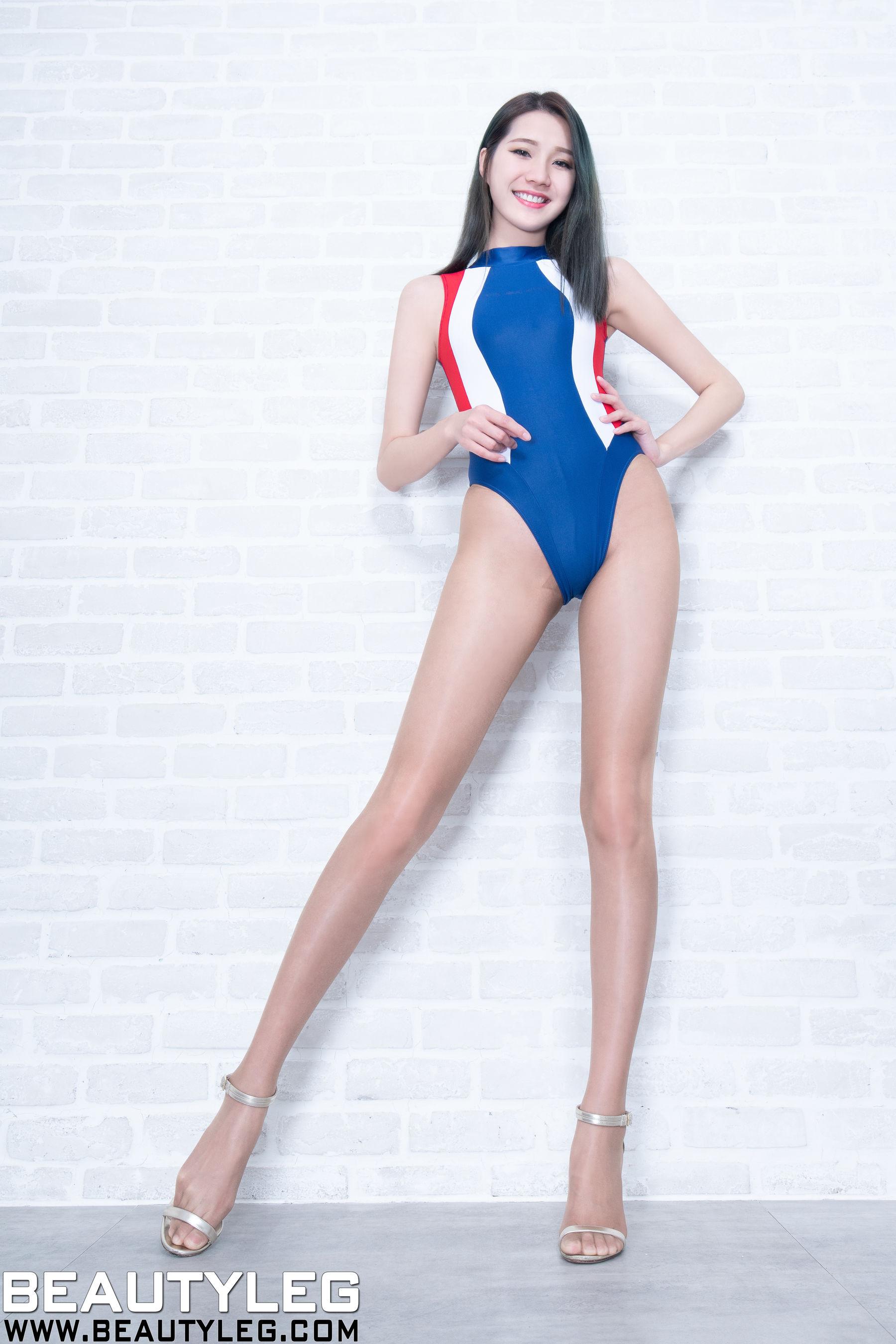 VOL.912 [Beautyleg]高叉泳装丝袜美腿肉丝袜:林千如(腿模Anita)超高清个人性感漂亮大图(64P)