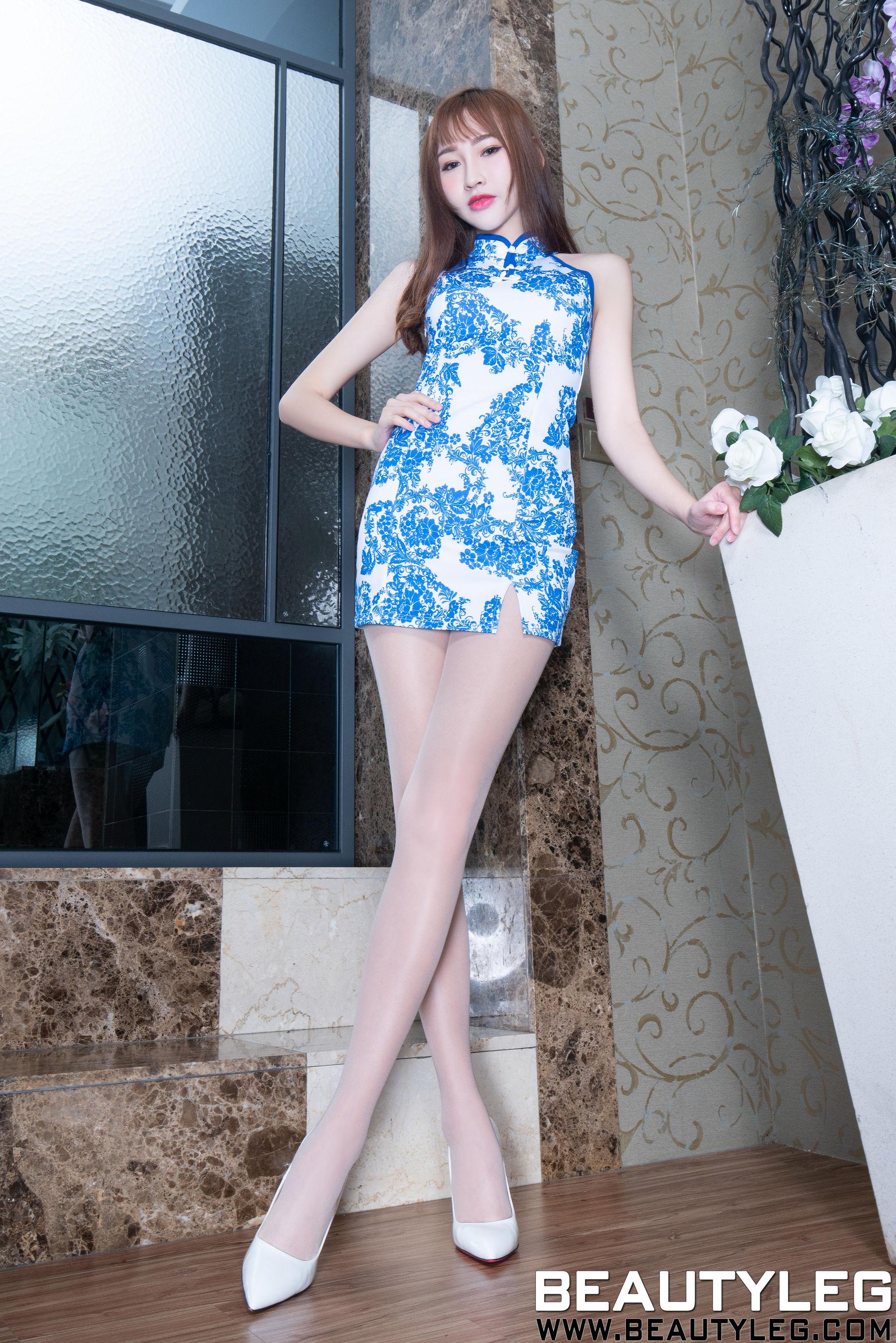 VOL.453 [Beautyleg]美腿高跟:腿模ChiChi超高清个人性感漂亮大图(50P)