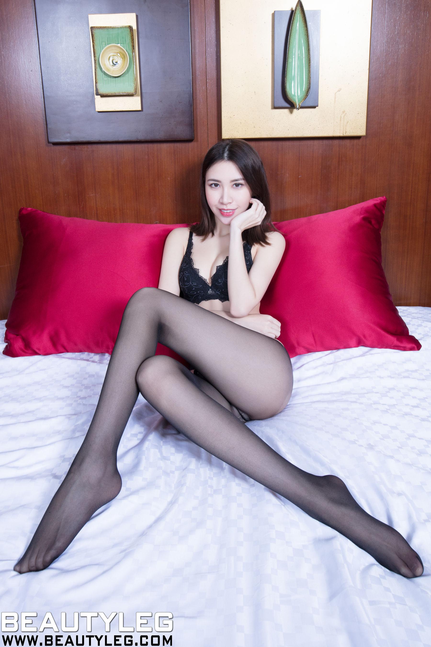 VOL.1244 [Beautyleg]丝袜美女丝袜美腿黑丝:崔多朵(崔德蓉,腿模Stephy)超高清个人性感漂亮大图(41P)