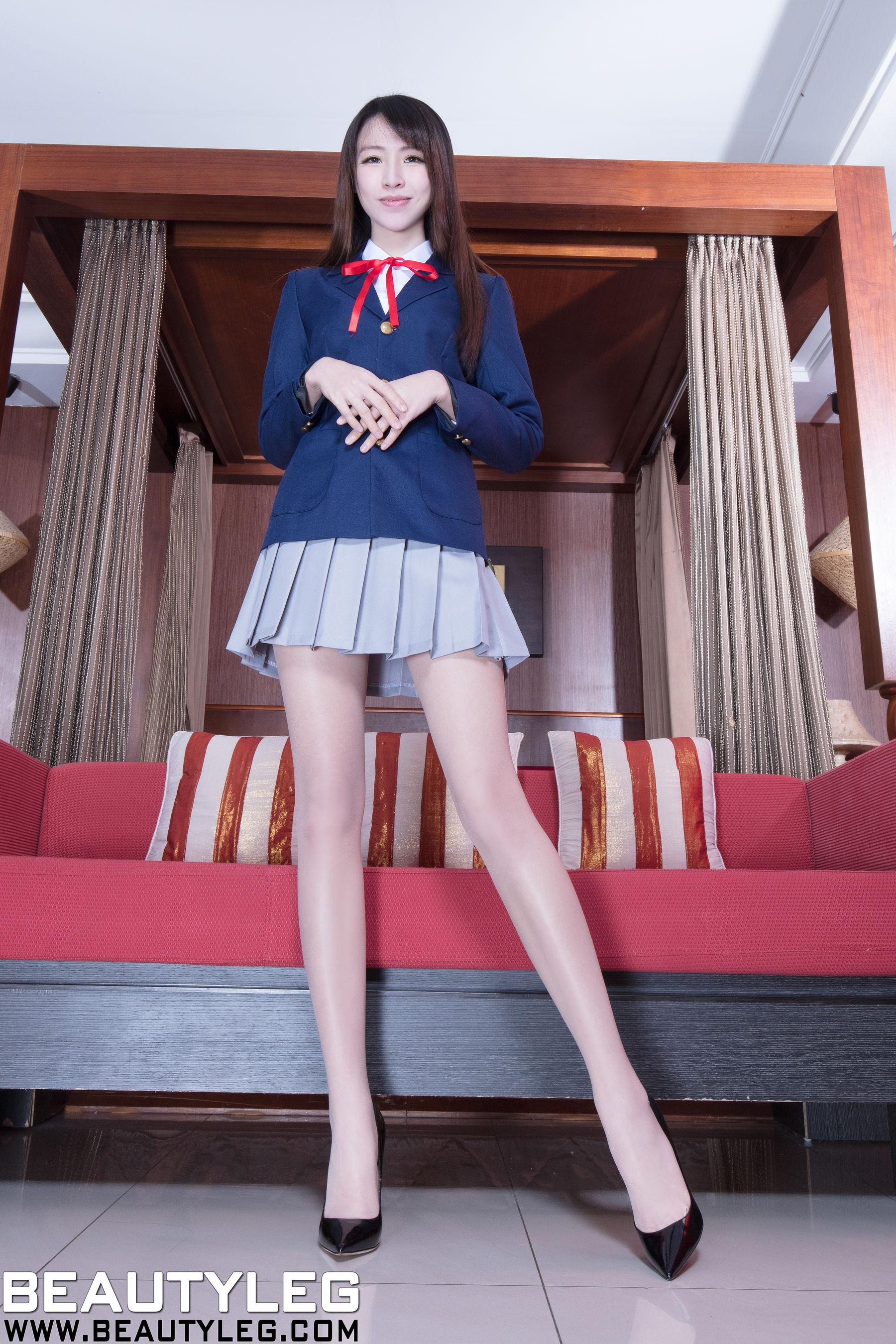 VOL.1749 [Beautyleg]制服长腿美女:腿模Nancy(Nancy)超高清个人性感漂亮大图(56P)