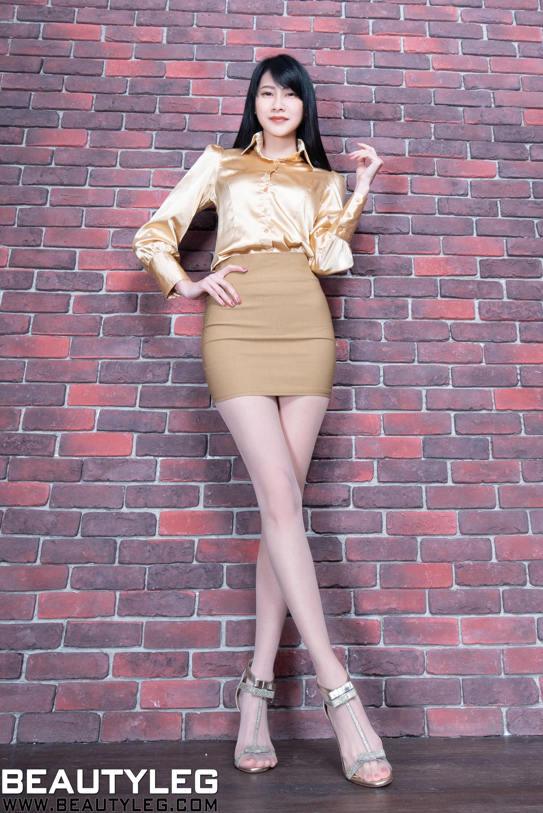 VOL.1792 [Beautyleg]丝袜美女高跟包臀裙美女:腿模Jing(Beautyleg Jing)超高清个人性感漂亮大图(68P)