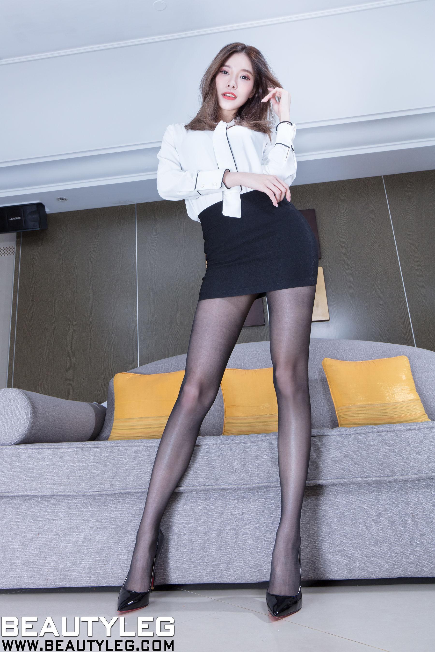 VOL.28 [Beautyleg]旗袍OL美女高跟美腿:陈玉雪(腿模Abby)超高清个人性感漂亮大图(46P)